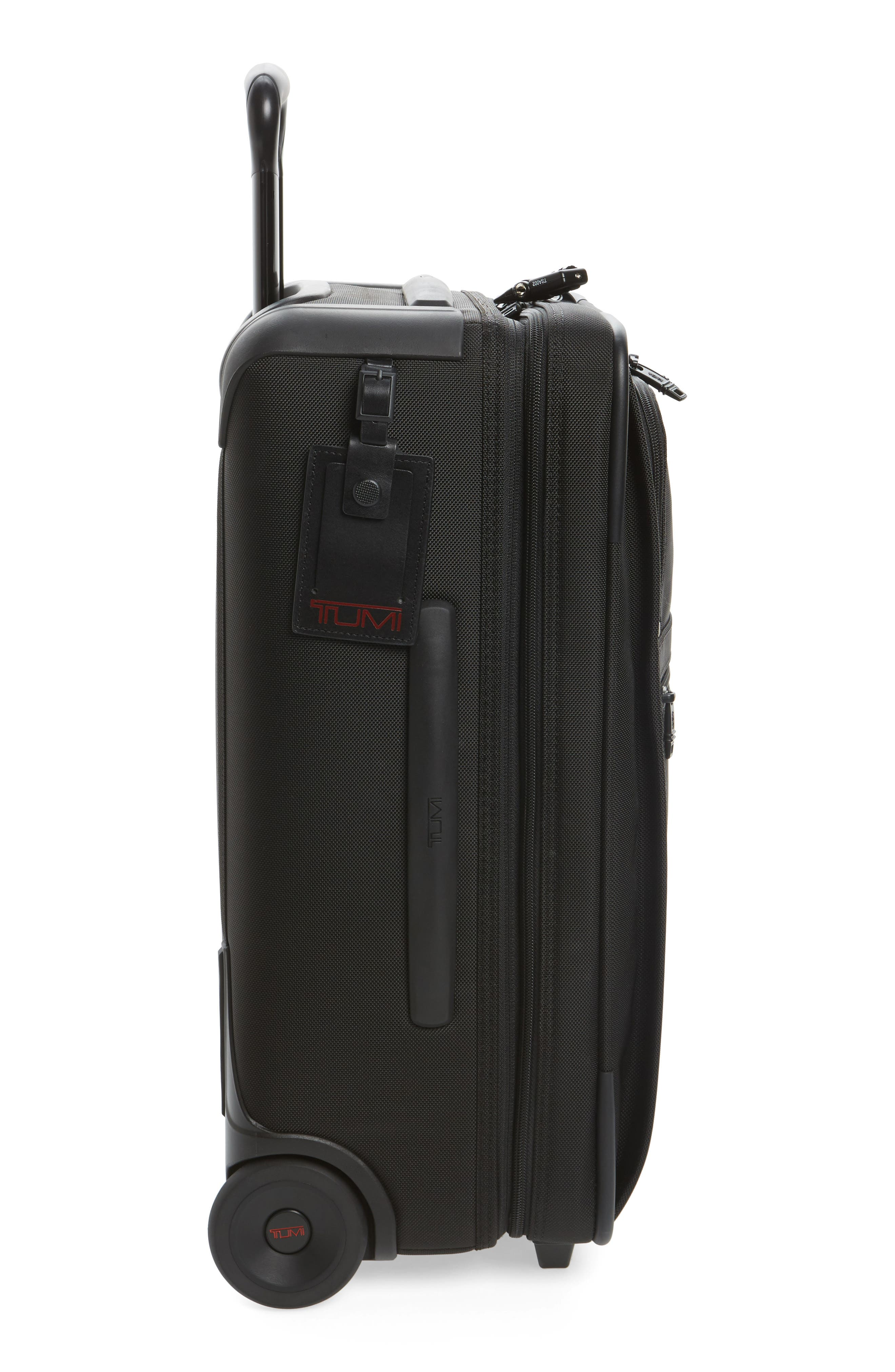 Alpha 2 22-Inch International Carry-On,                             Alternate thumbnail 3, color,                             BLACK