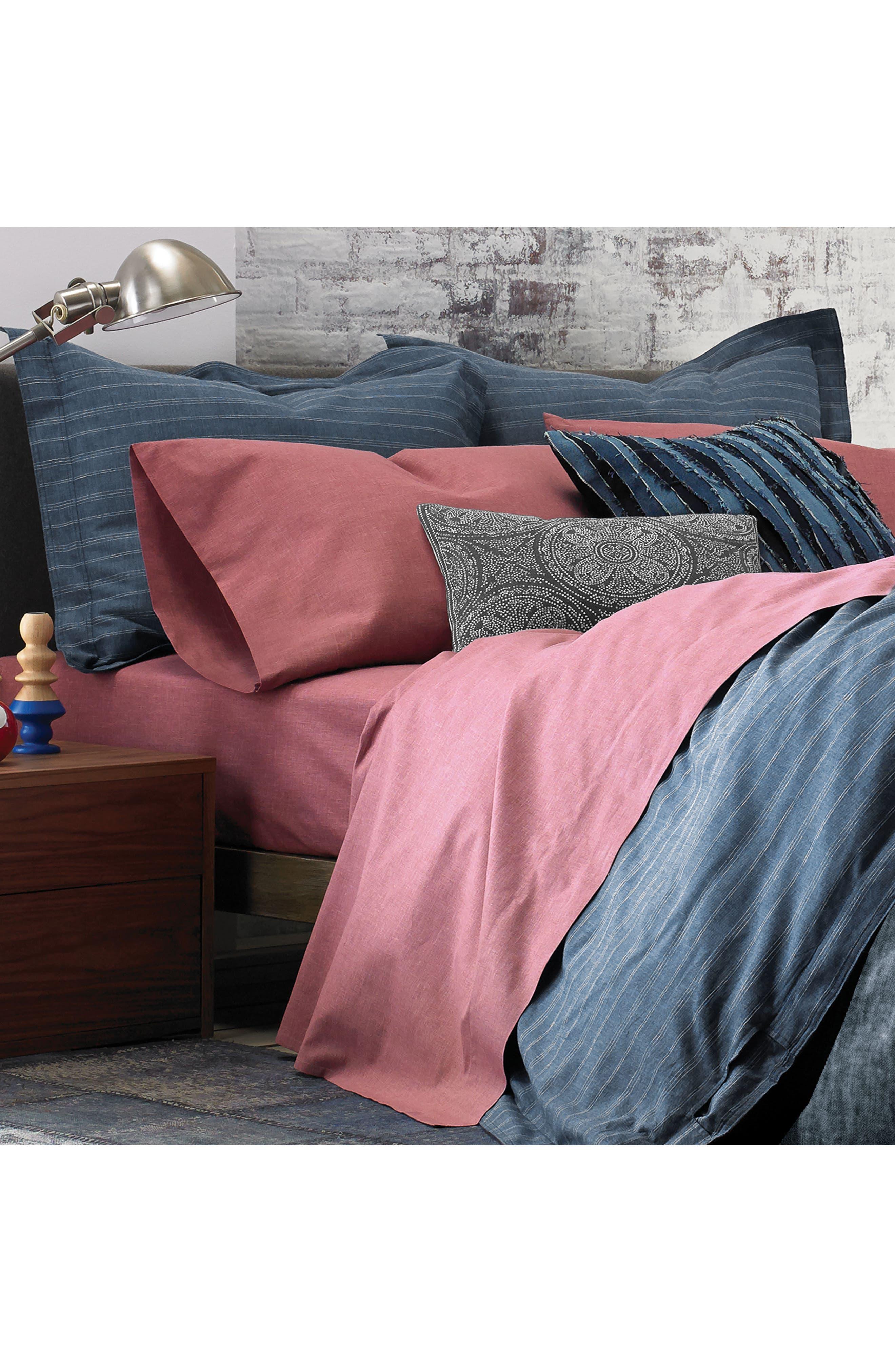 Chambray Pillowcases,                             Alternate thumbnail 7, color,