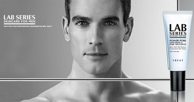 Lab Series Skincare for Men.