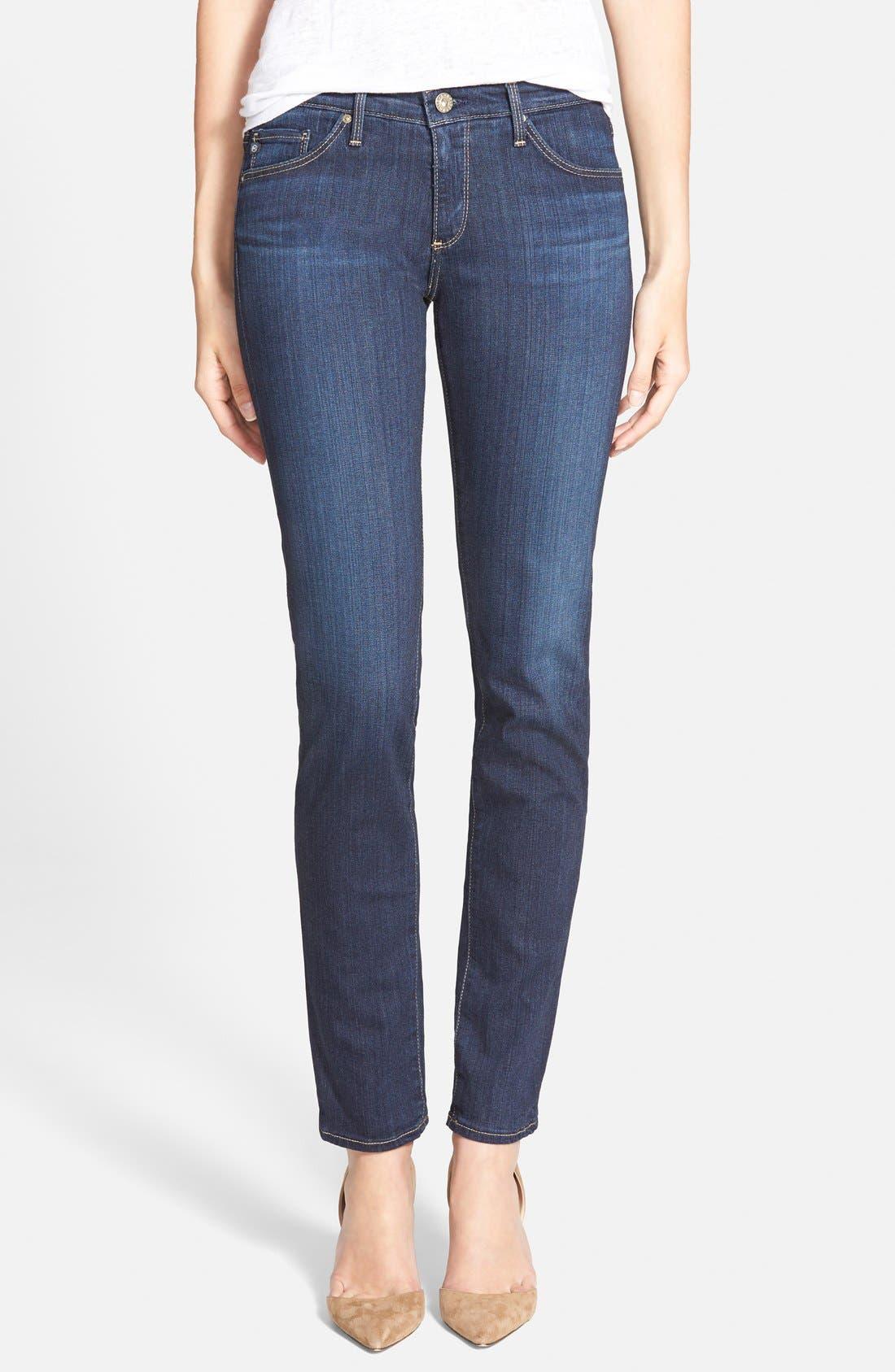 'The Stilt' Cigarette Skinny Jeans,                             Main thumbnail 6, color,