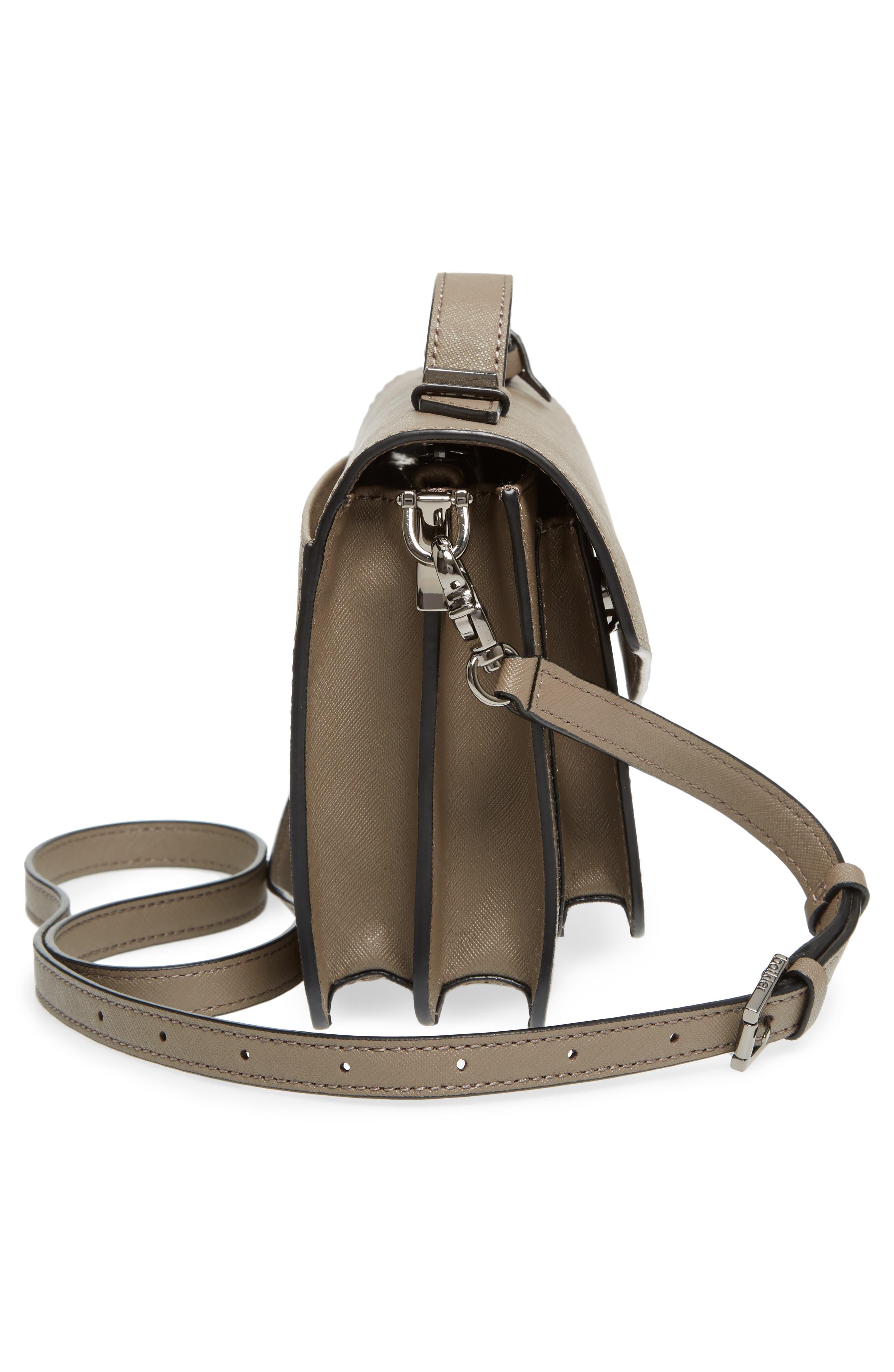 Cobble Hill Leather Crossbody Bag,                             Alternate thumbnail 121, color,