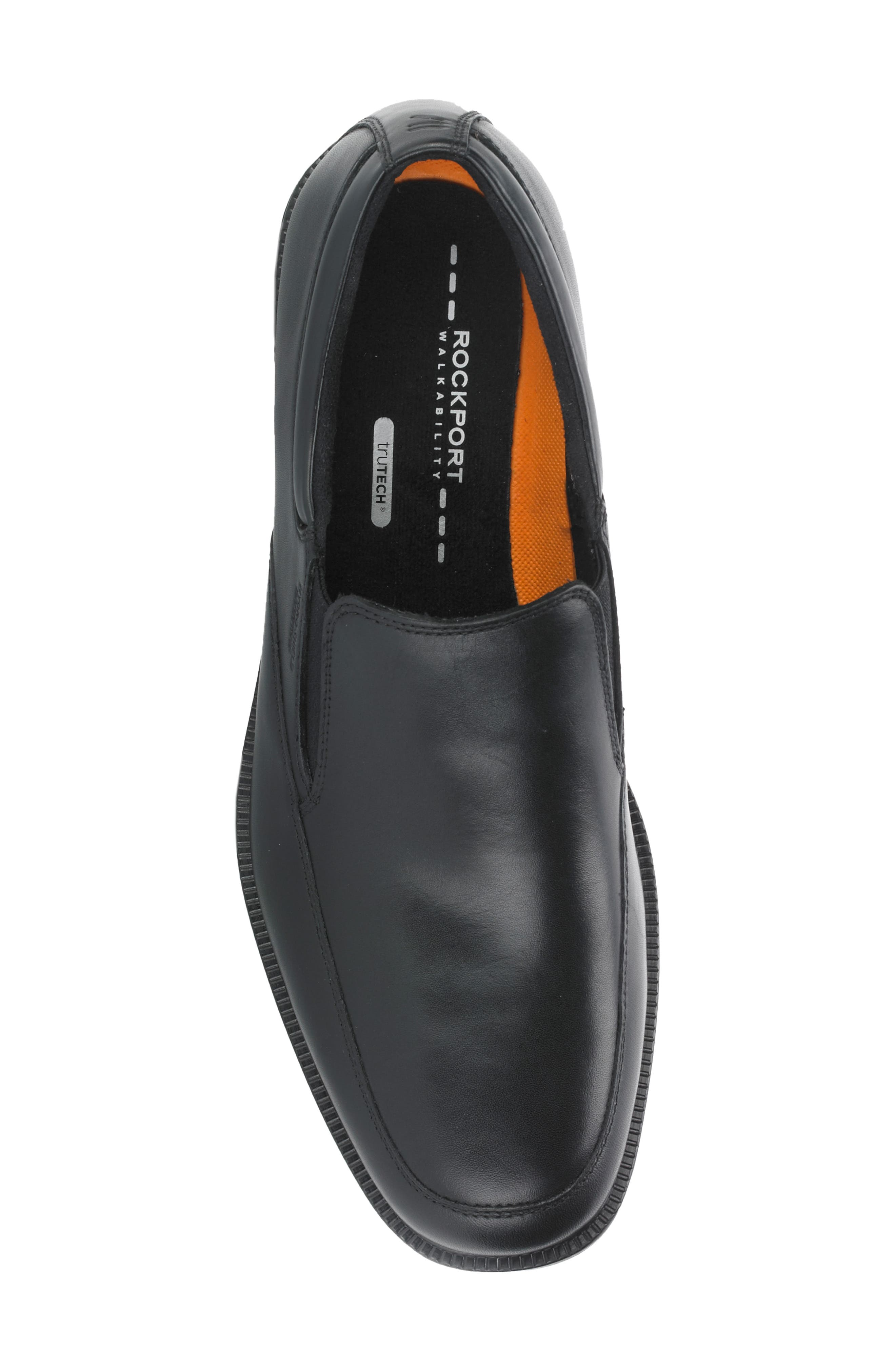 'Essential Details' Waterproof Loafer,                             Alternate thumbnail 2, color,                             BLACK