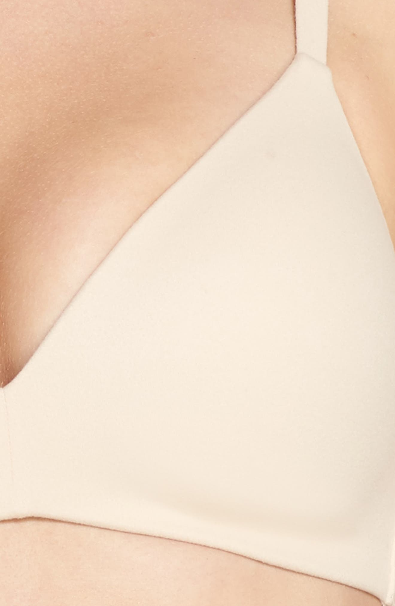 How Perfect No-Wire Contour Bra,                             Alternate thumbnail 5, color,                             NATURALLY NUDE