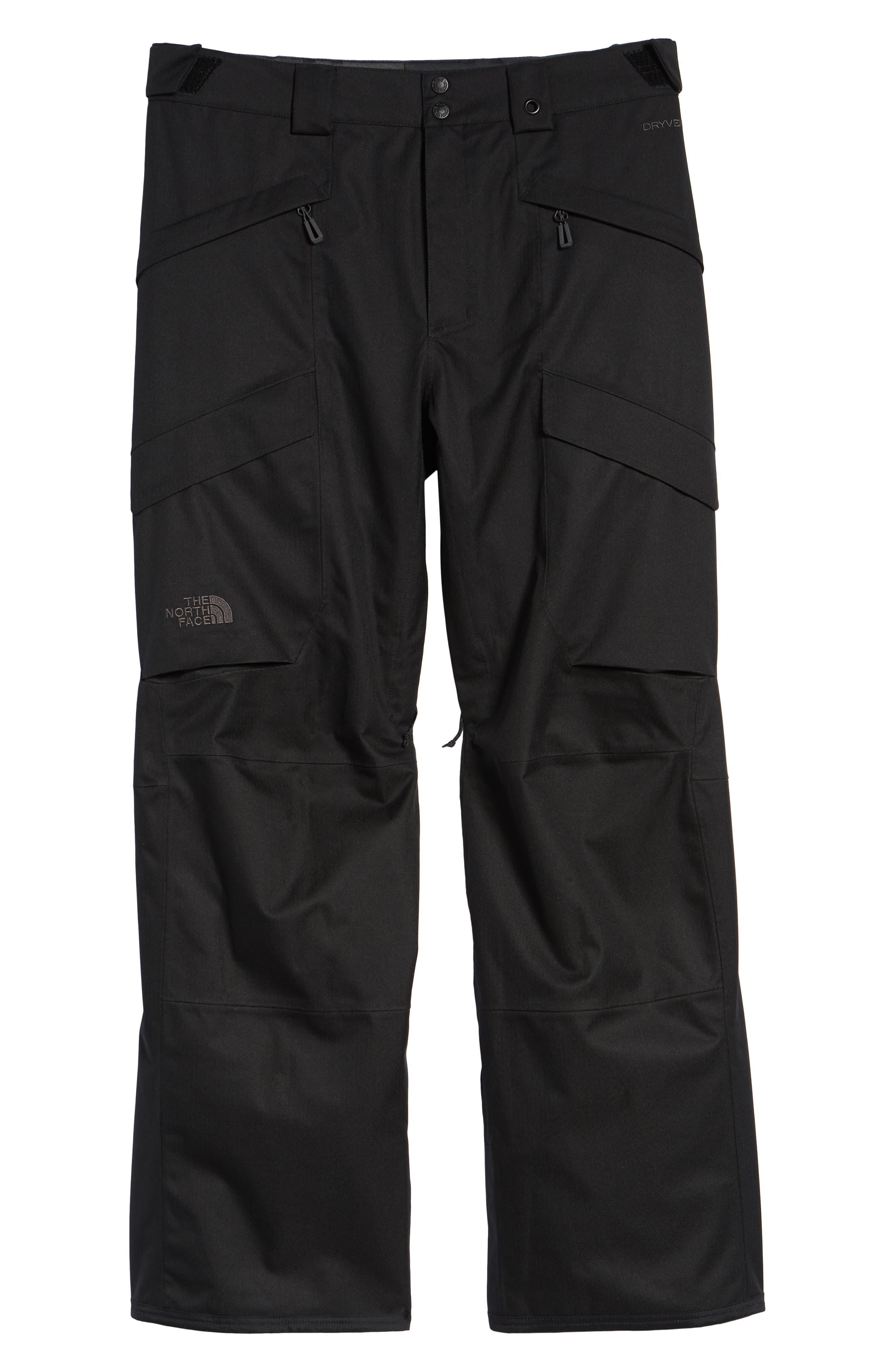 Gatekeeper Waterproof Pants,                             Alternate thumbnail 6, color,                             TNF BLACK/TNF BLACK