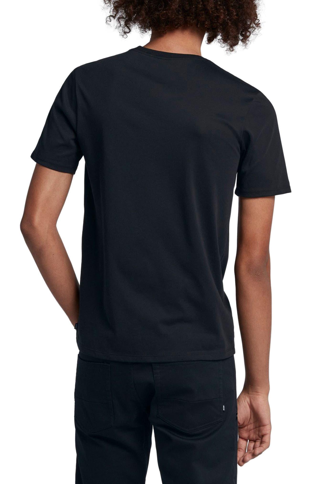 Dry Crewneck T-Shirt,                             Alternate thumbnail 2, color,                             010