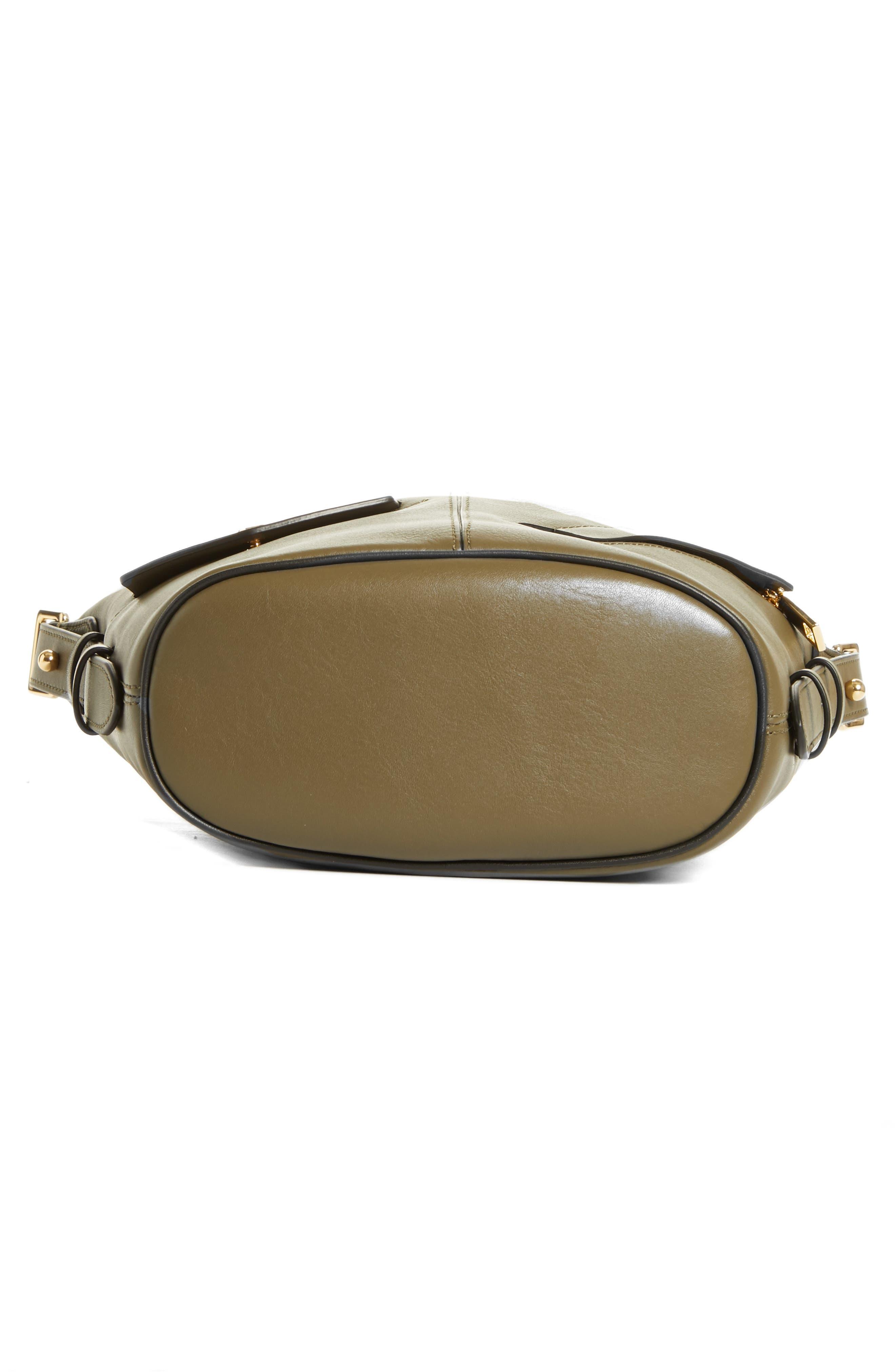 The Mini Sling Convertible Leather Hobo,                             Alternate thumbnail 39, color,