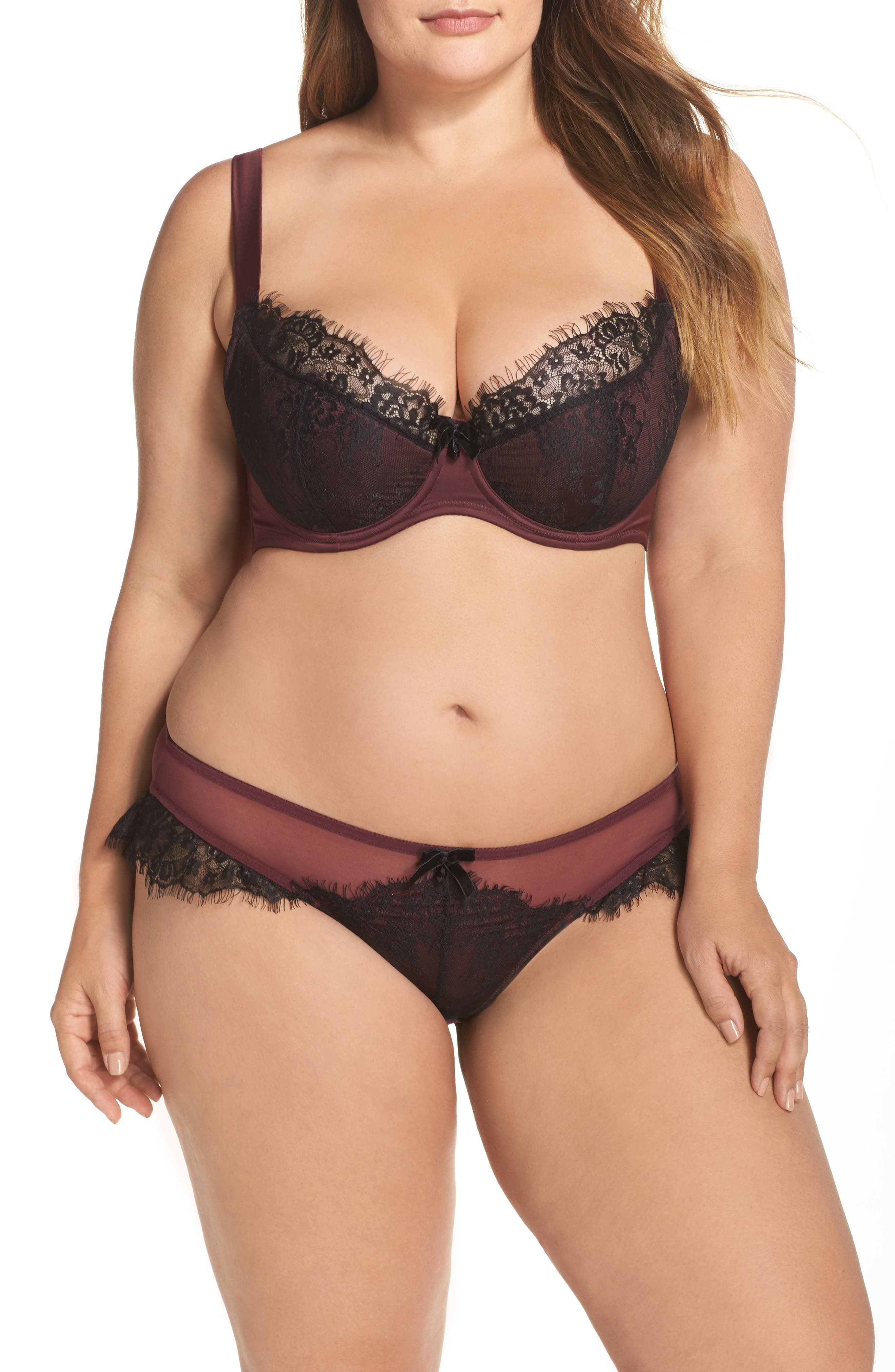 Karine Curve Underwire Bra,                             Alternate thumbnail 7, color,