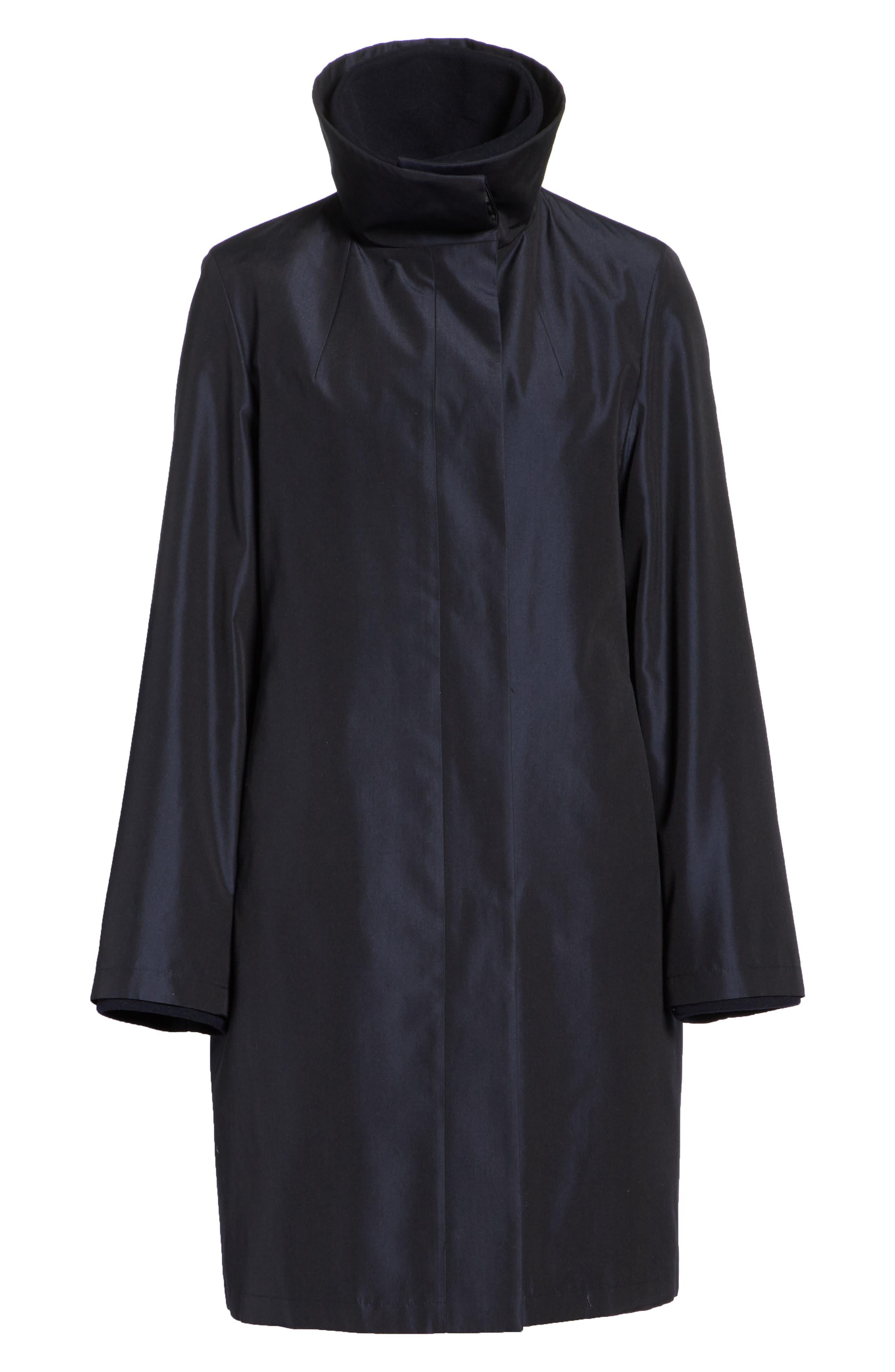3-in-1 Technical Coat,                             Alternate thumbnail 8, color,                             BLACK
