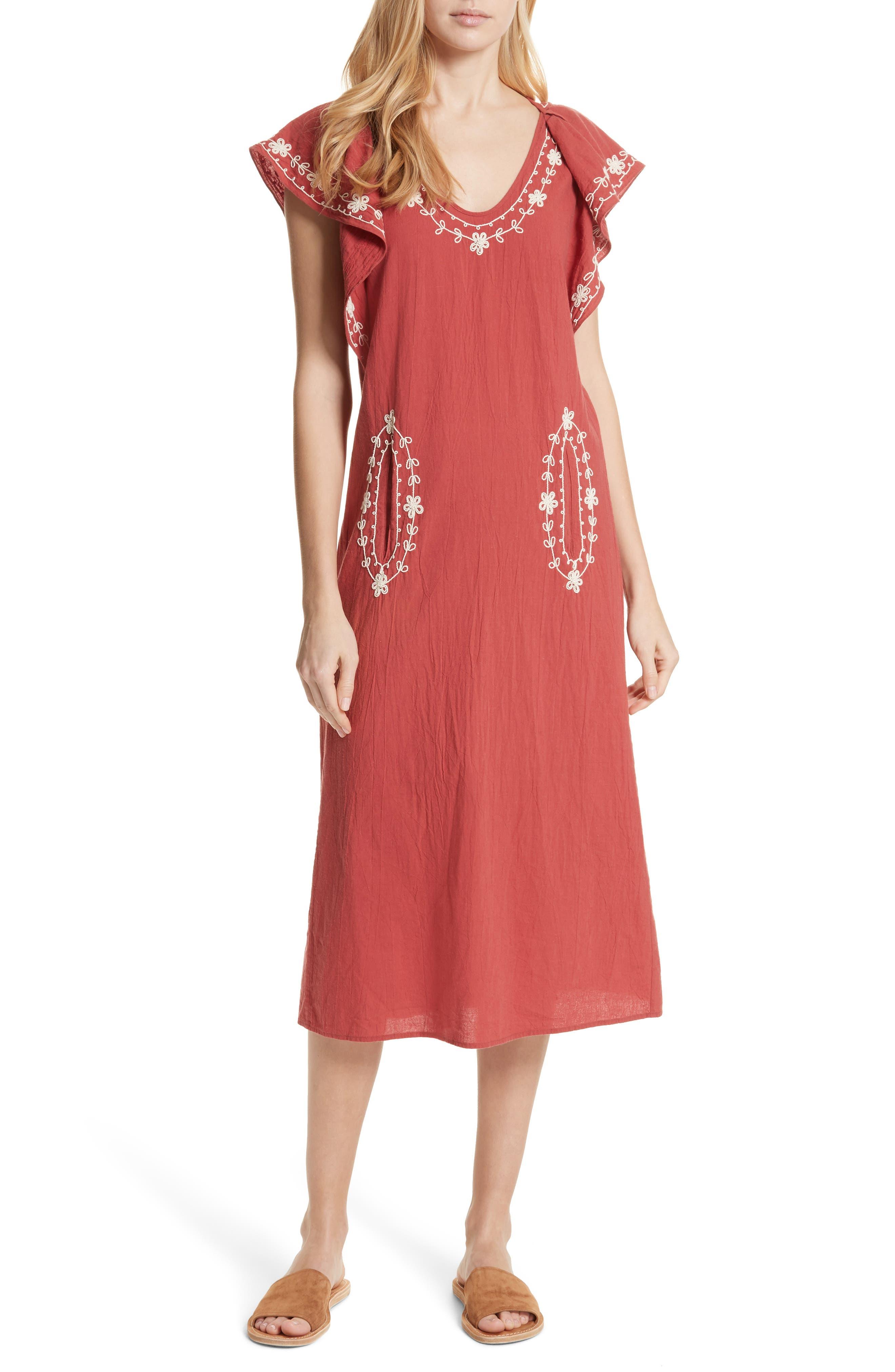 The Vineyard Dress,                         Main,                         color, 600