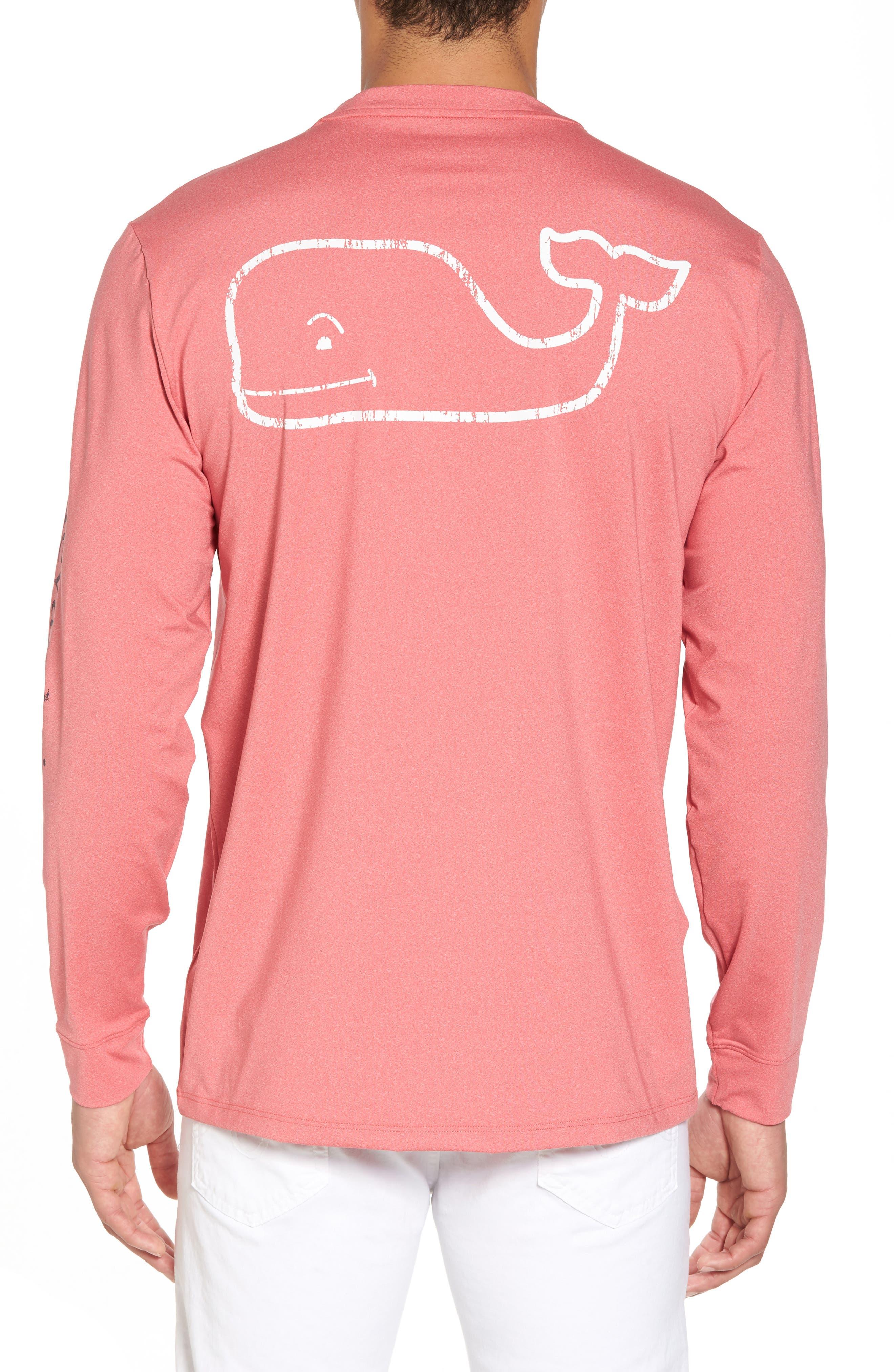 Vintage Whale Performance T-Shirt,                             Alternate thumbnail 6, color,