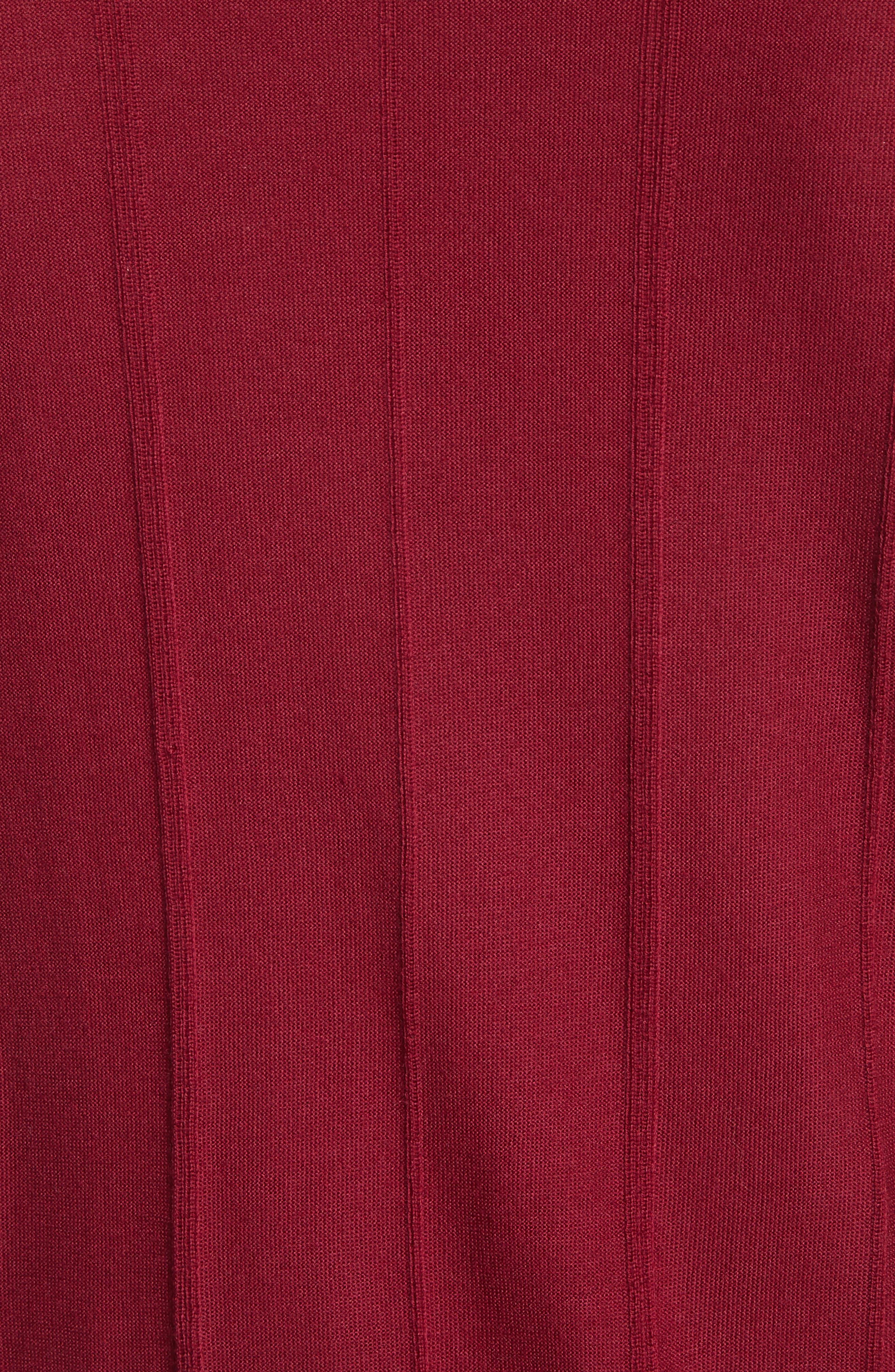 Slim Fit Wool Crewneck Sweater,                             Alternate thumbnail 5, color,                             930