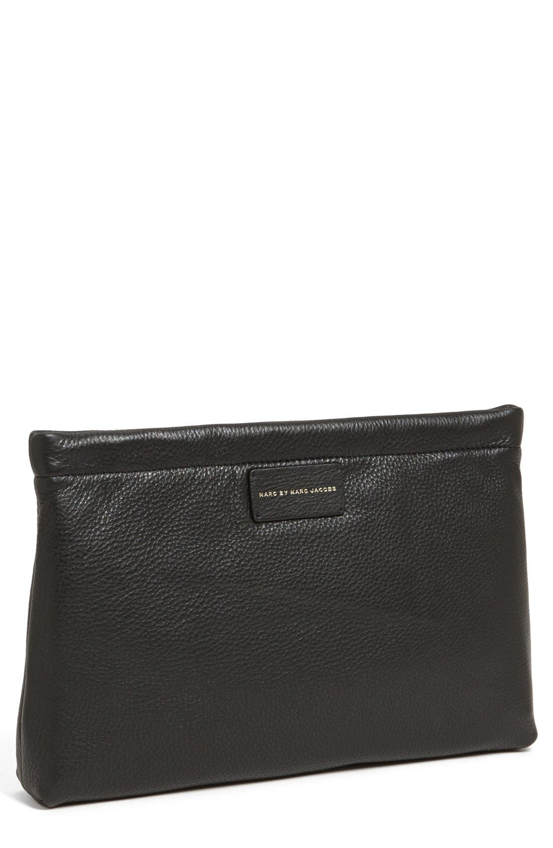 MARC BY MARC JACOBS 'Can't Clutch This - Large' Clutch,                             Main thumbnail 1, color,                             001