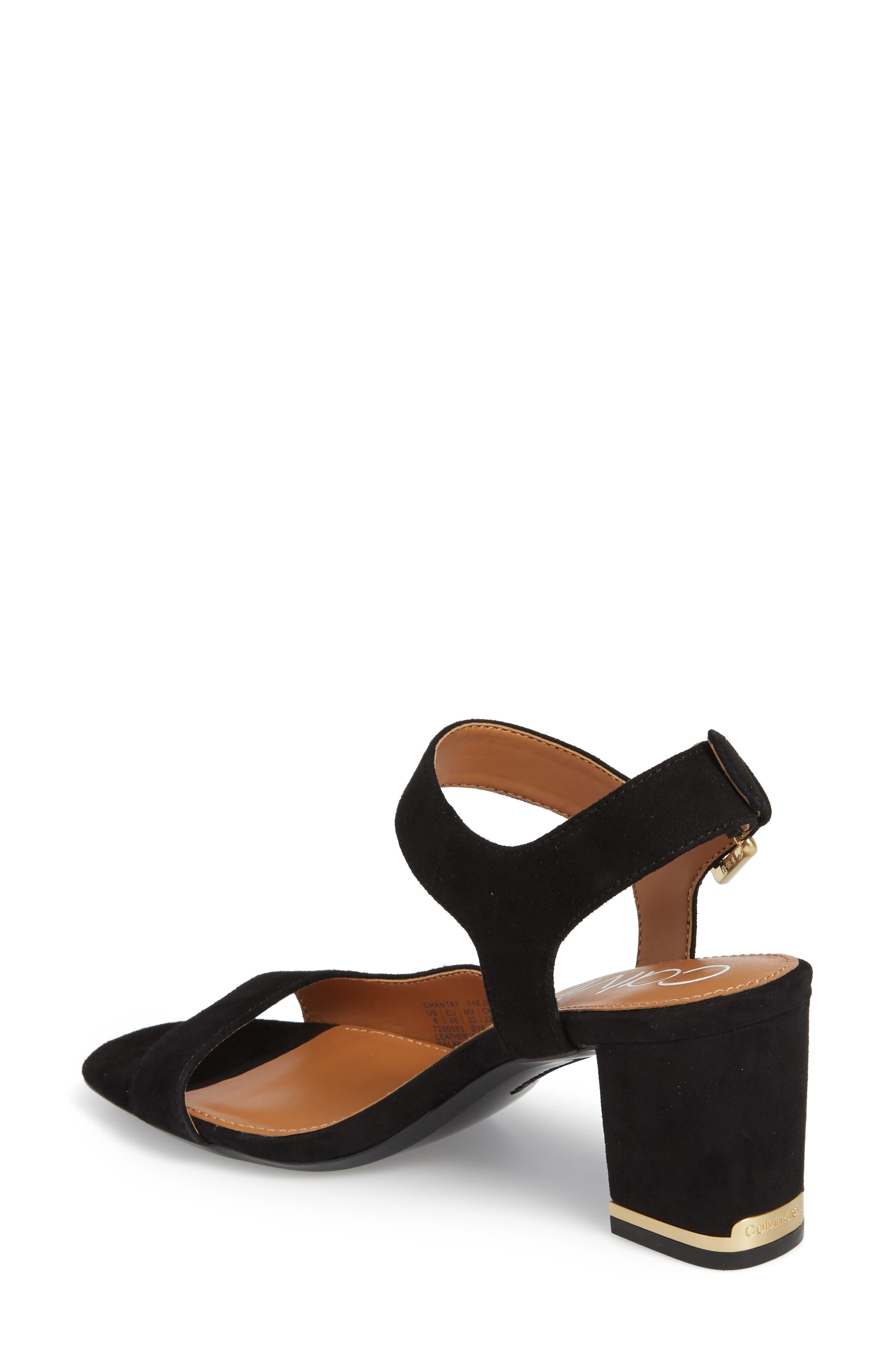 Chantay Asymmetrical Sandal,                             Alternate thumbnail 2, color,                             001