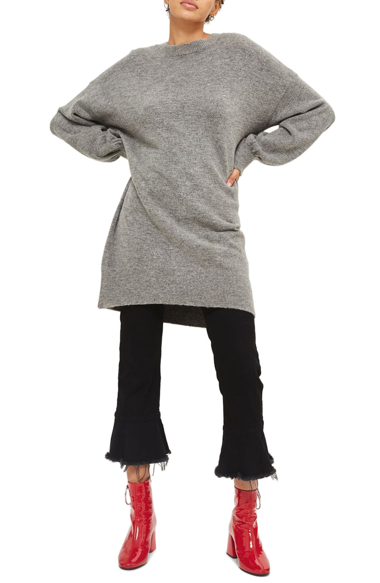 Sweater Dress,                             Main thumbnail 1, color,                             021
