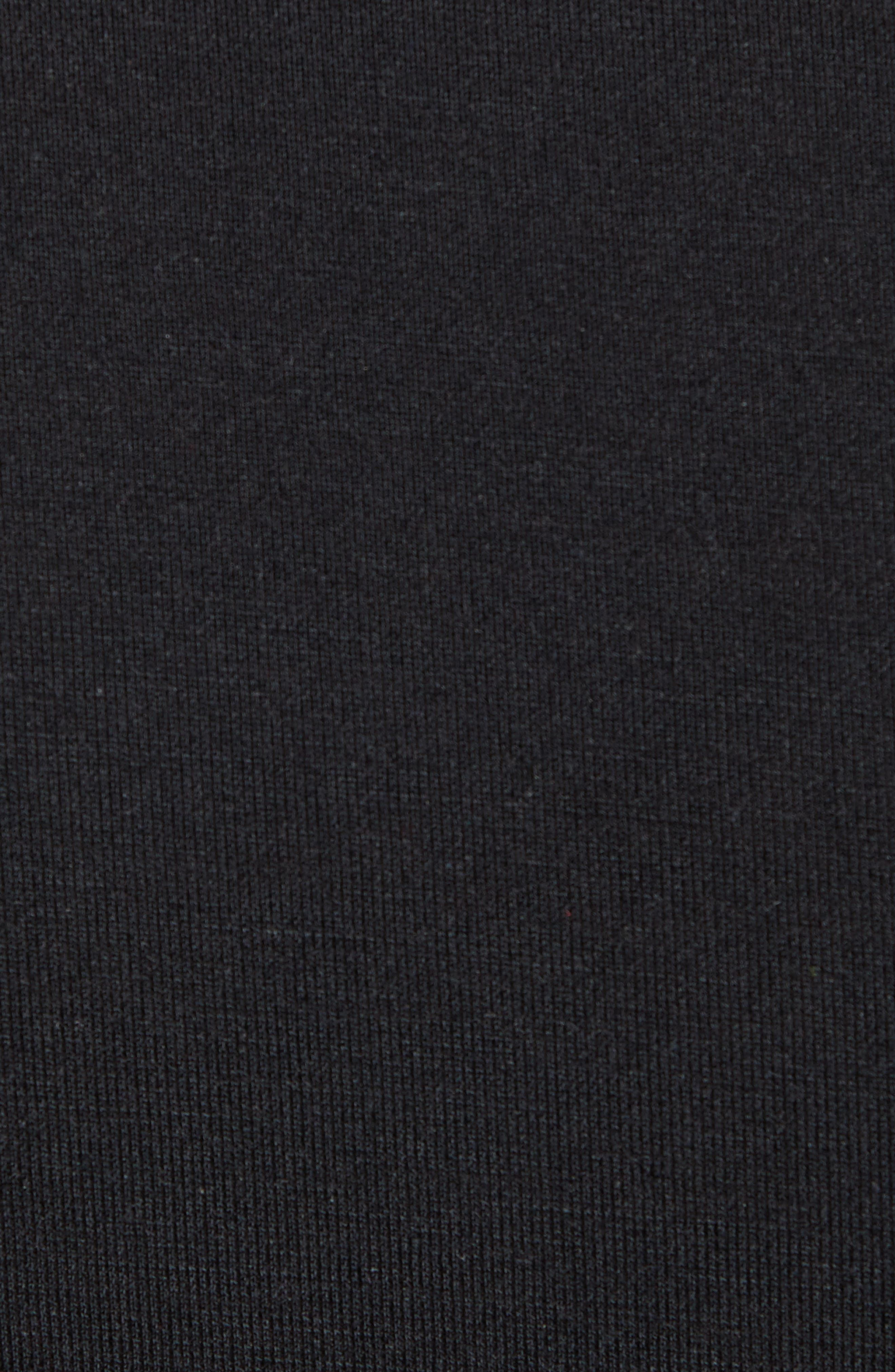 CALVIN KLEIN,                             Ultrasoft Stretch Modal V-Neck T-Shirt,                             Alternate thumbnail 5, color,                             BLACK