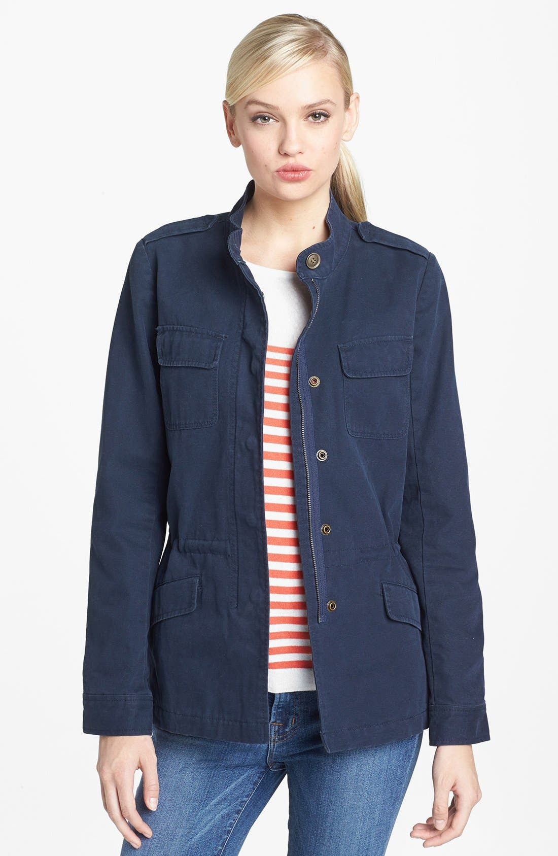 'Expedition' Cotton Twill Jacket,                             Main thumbnail 3, color,