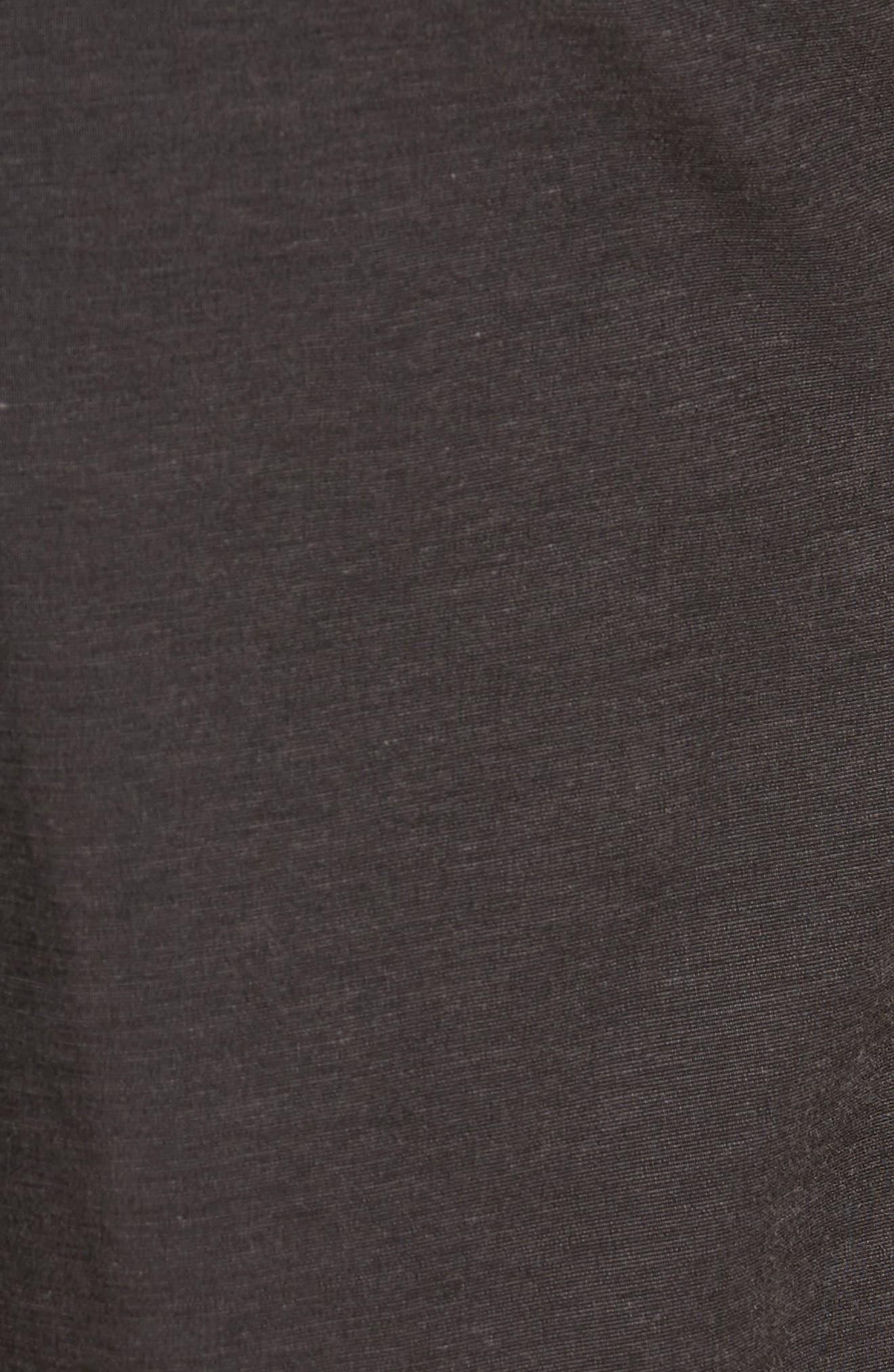 Chip & Run Shorts,                             Alternate thumbnail 5, color,                             BLACK