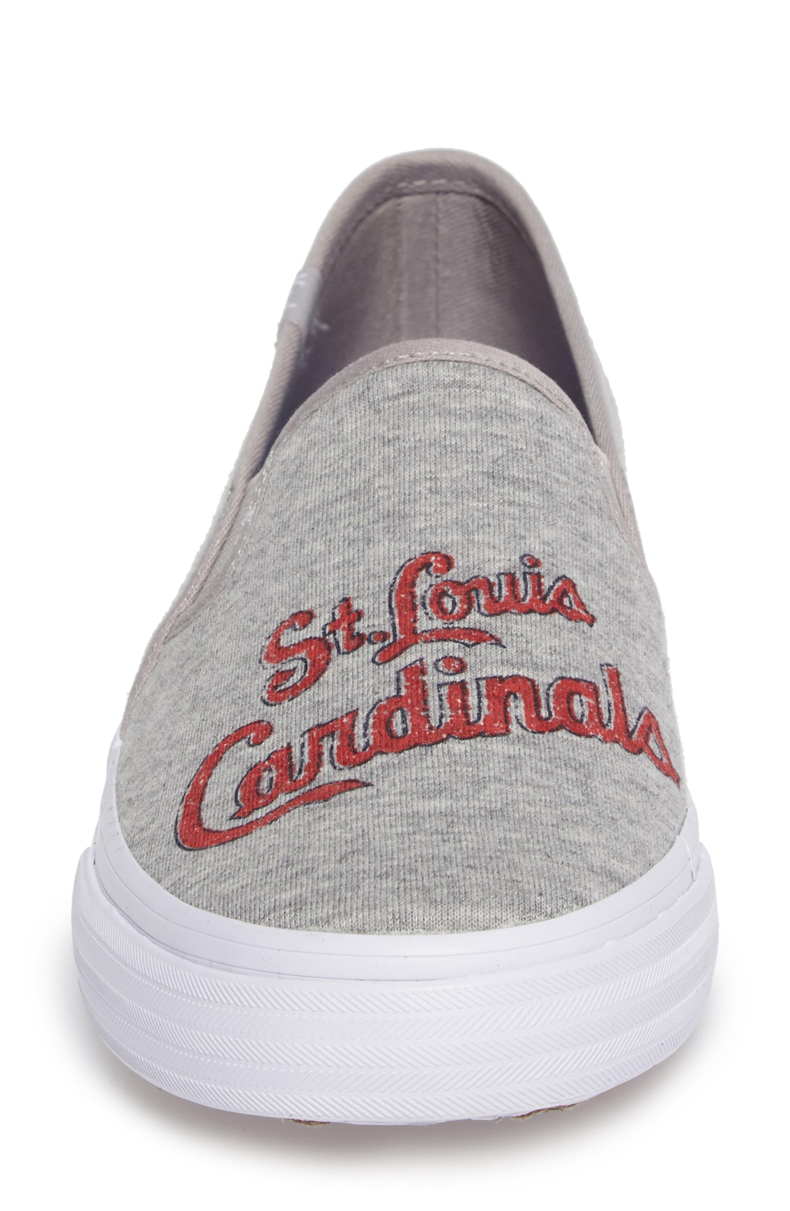 Double Decker Baseball Team Jersey Slip-On Sneaker,                             Alternate thumbnail 4, color,                             050