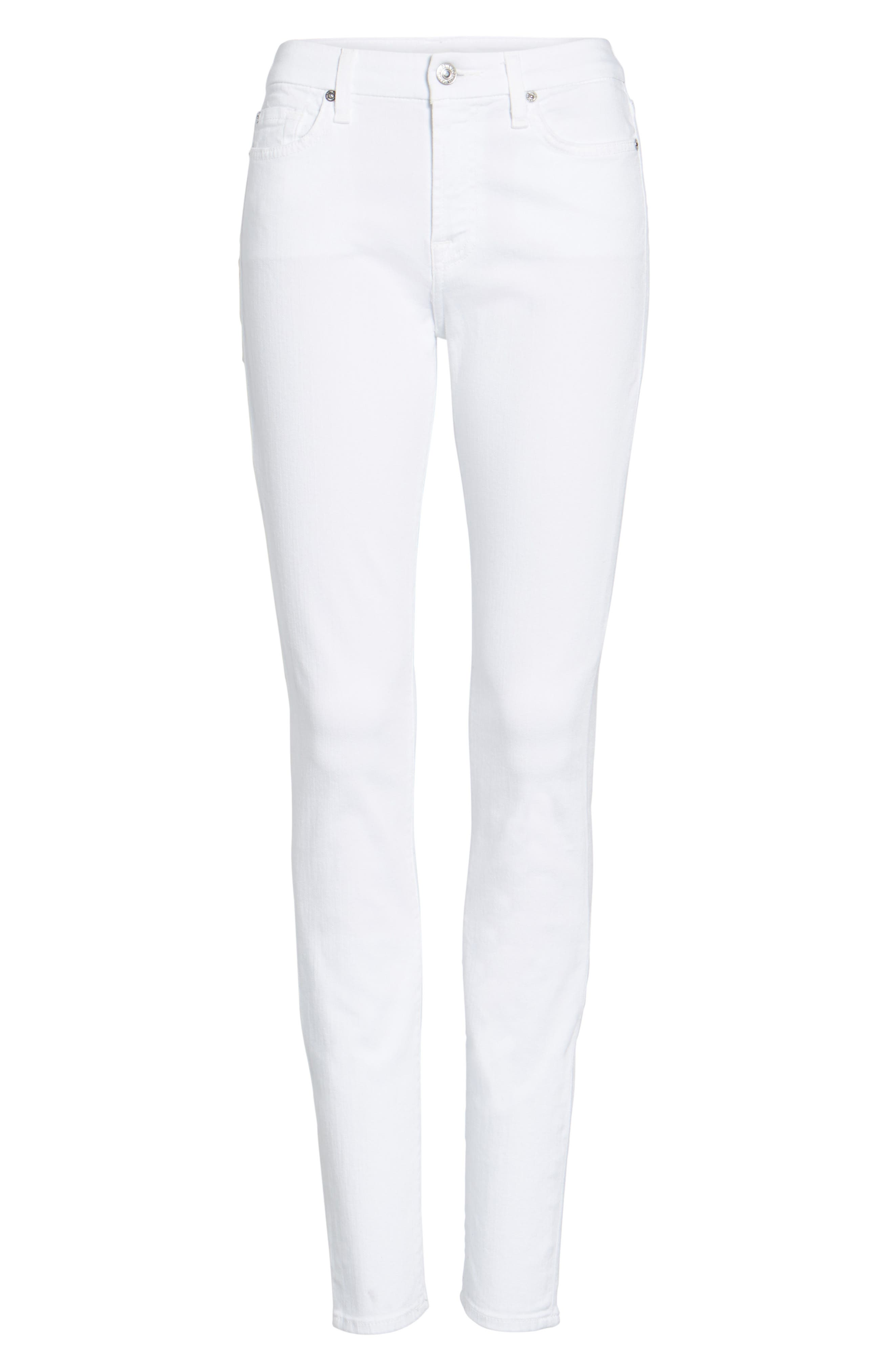 'The Skinny' Skinny Jeans,                             Alternate thumbnail 2, color,                             CLEAN WHITE