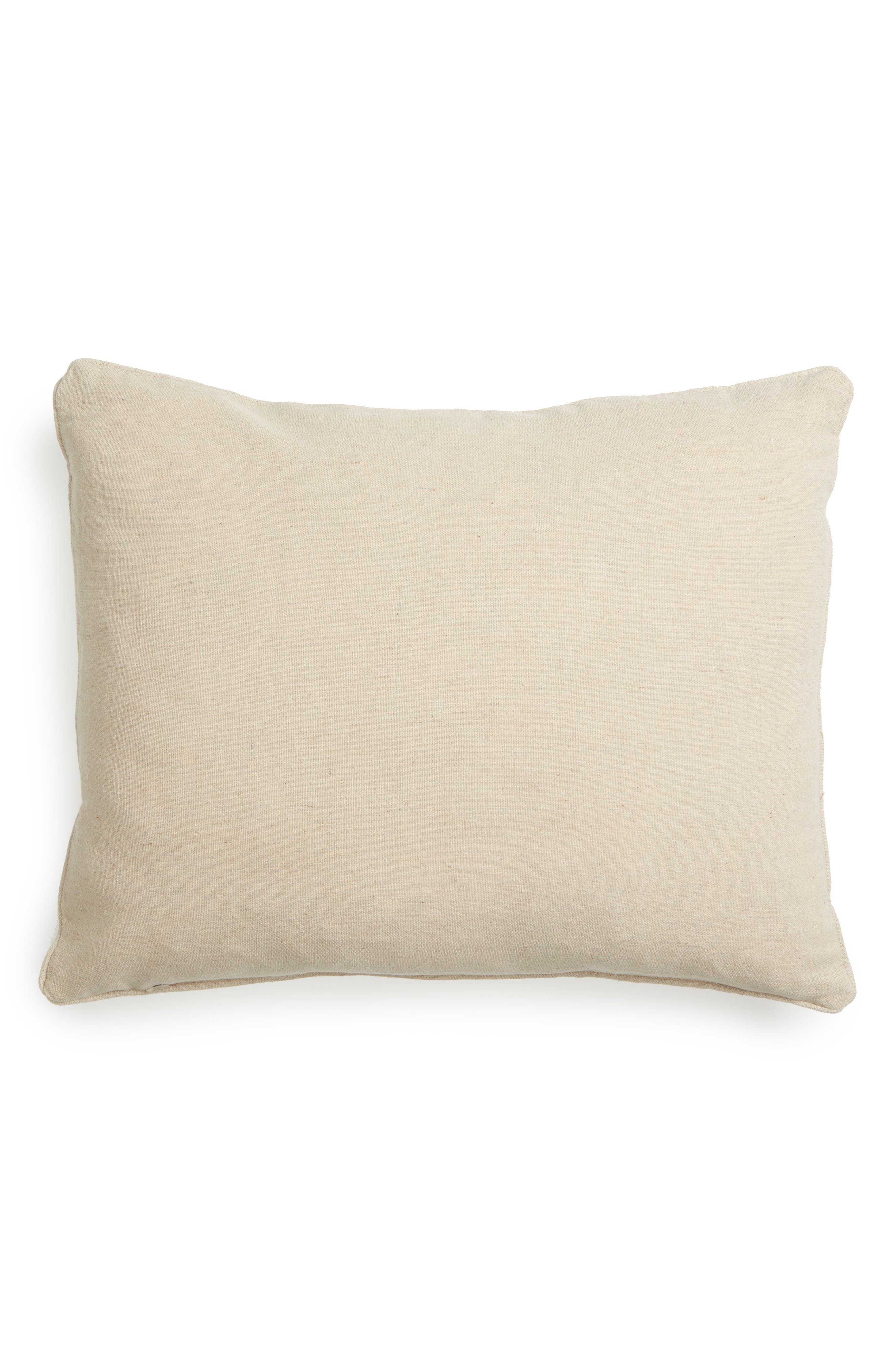 Beckett Embroidered Pillow,                             Alternate thumbnail 2, color,