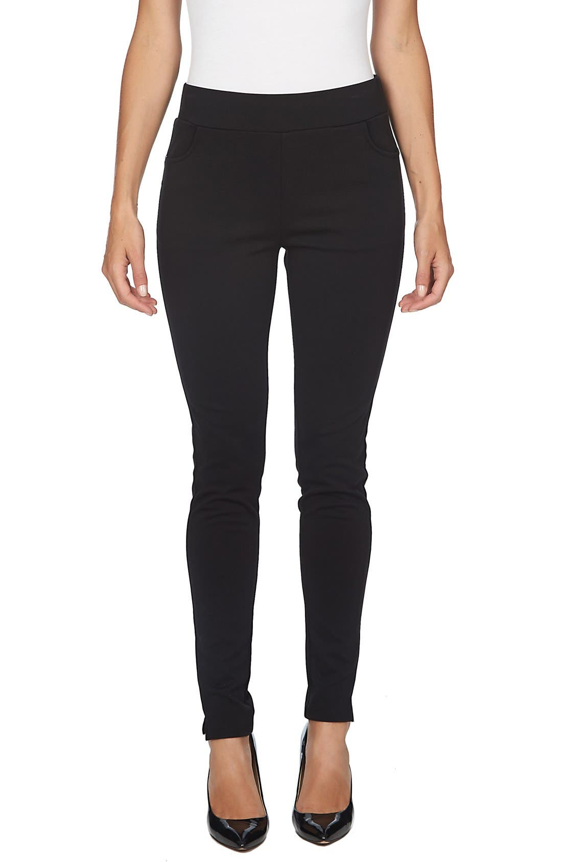 Ponte Knit Leggings,                             Main thumbnail 3, color,