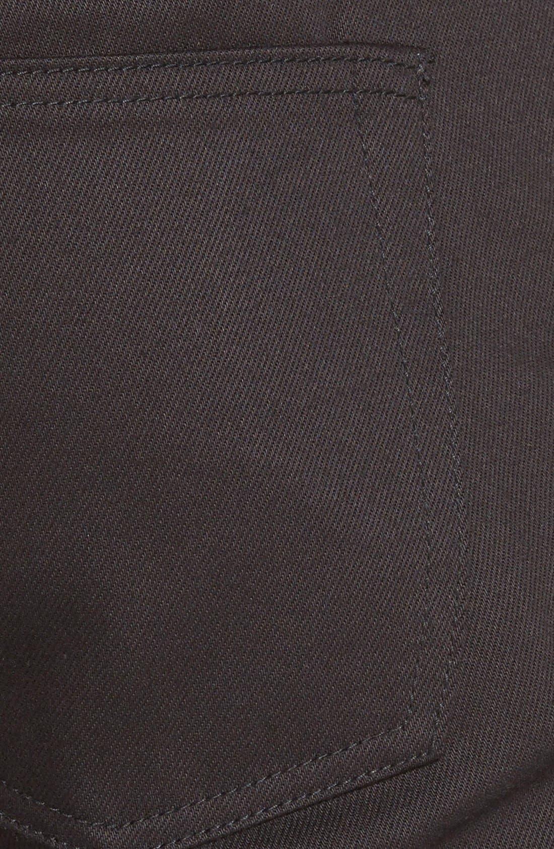 'UB155' Skinny Fit Raw Selvedge Jeans,                             Alternate thumbnail 3, color,                             001