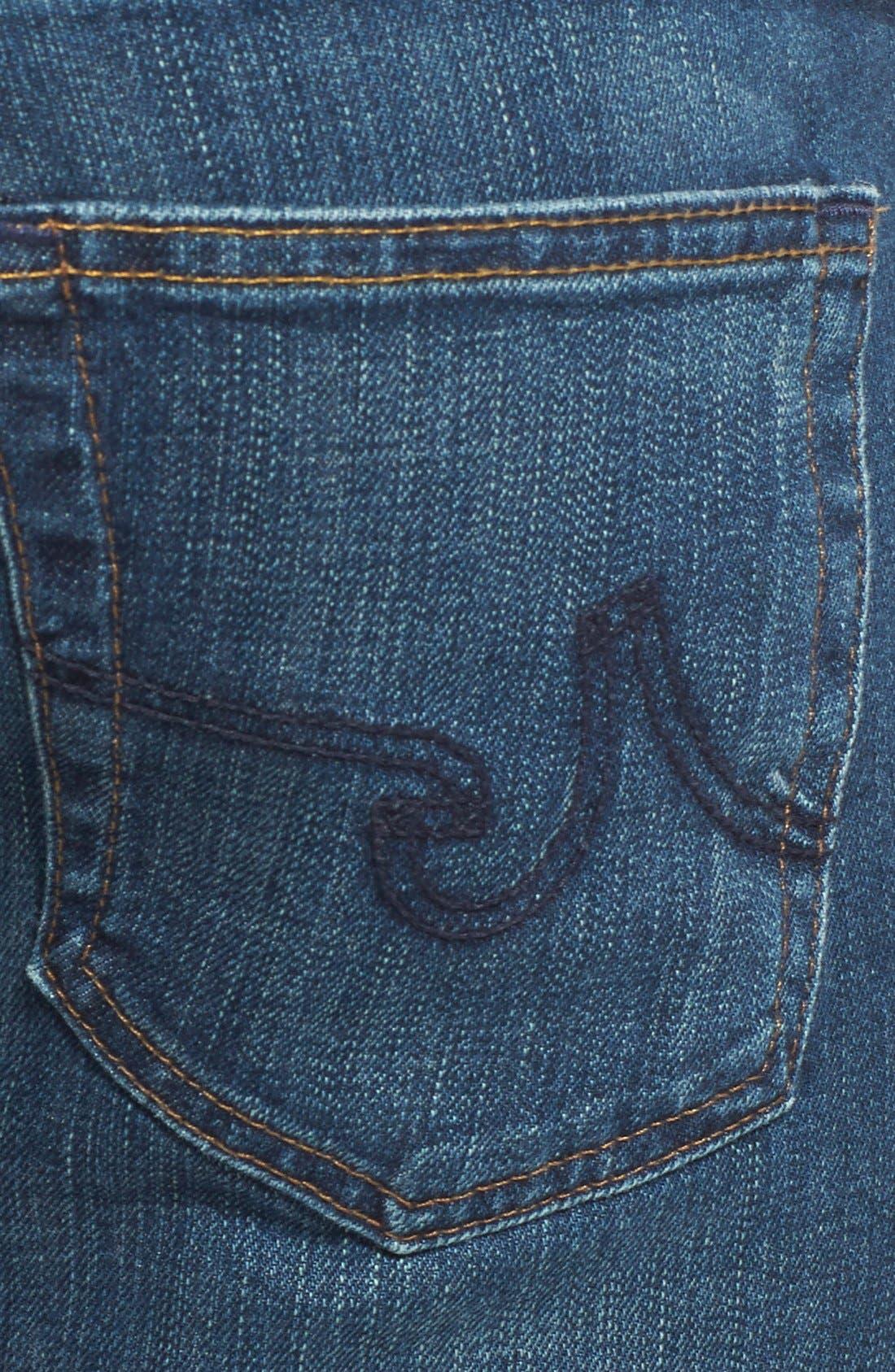 AG,                             'Matchbox' Slim Fit Jeans,                             Alternate thumbnail 3, color,                             400