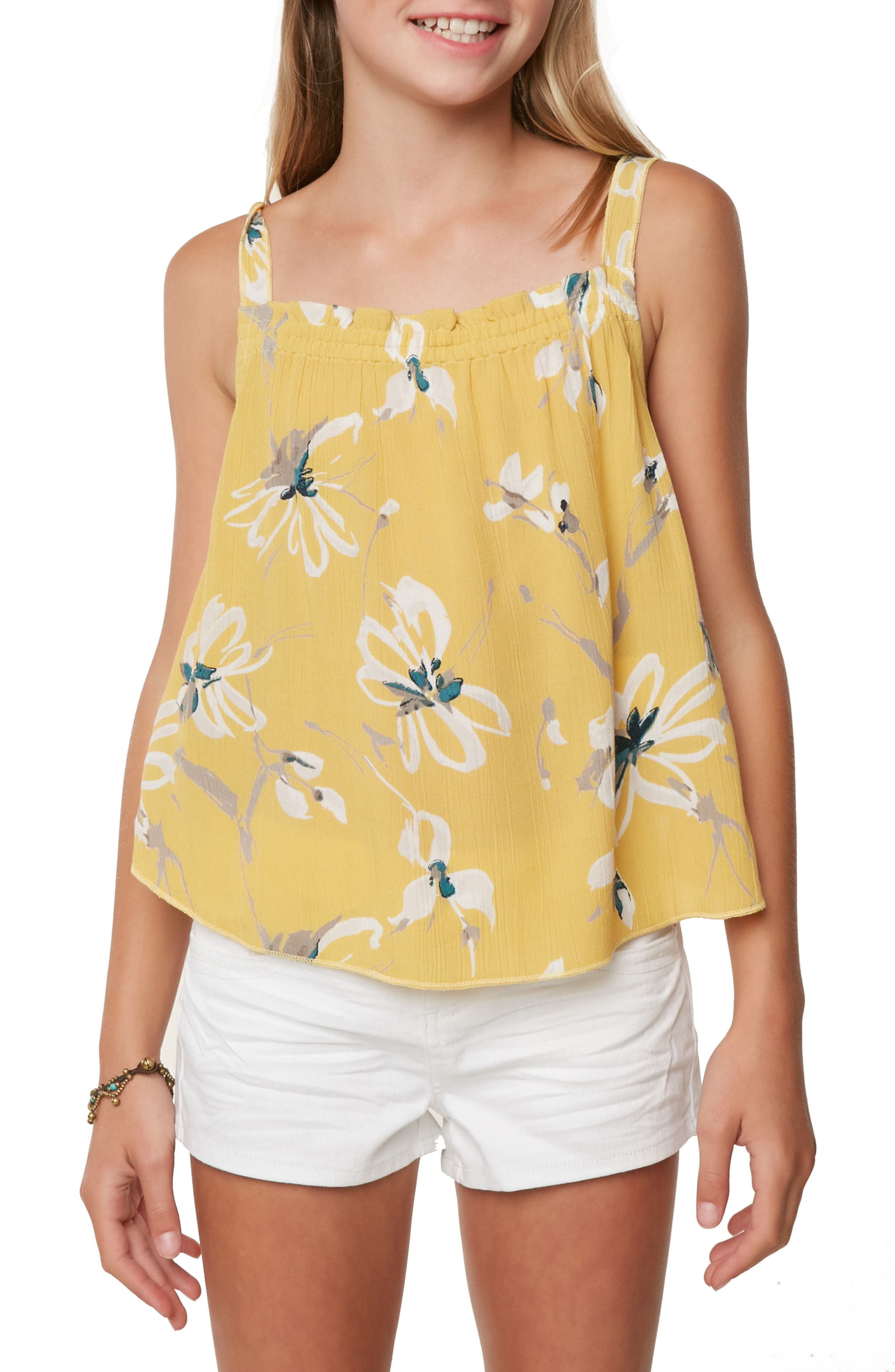 Taylen Floral Tank,                             Alternate thumbnail 3, color,                             709