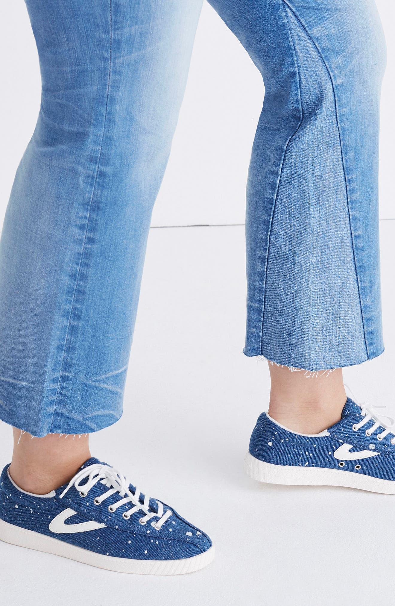 Cali Demi Boot Jeans,                             Alternate thumbnail 4, color,                             400