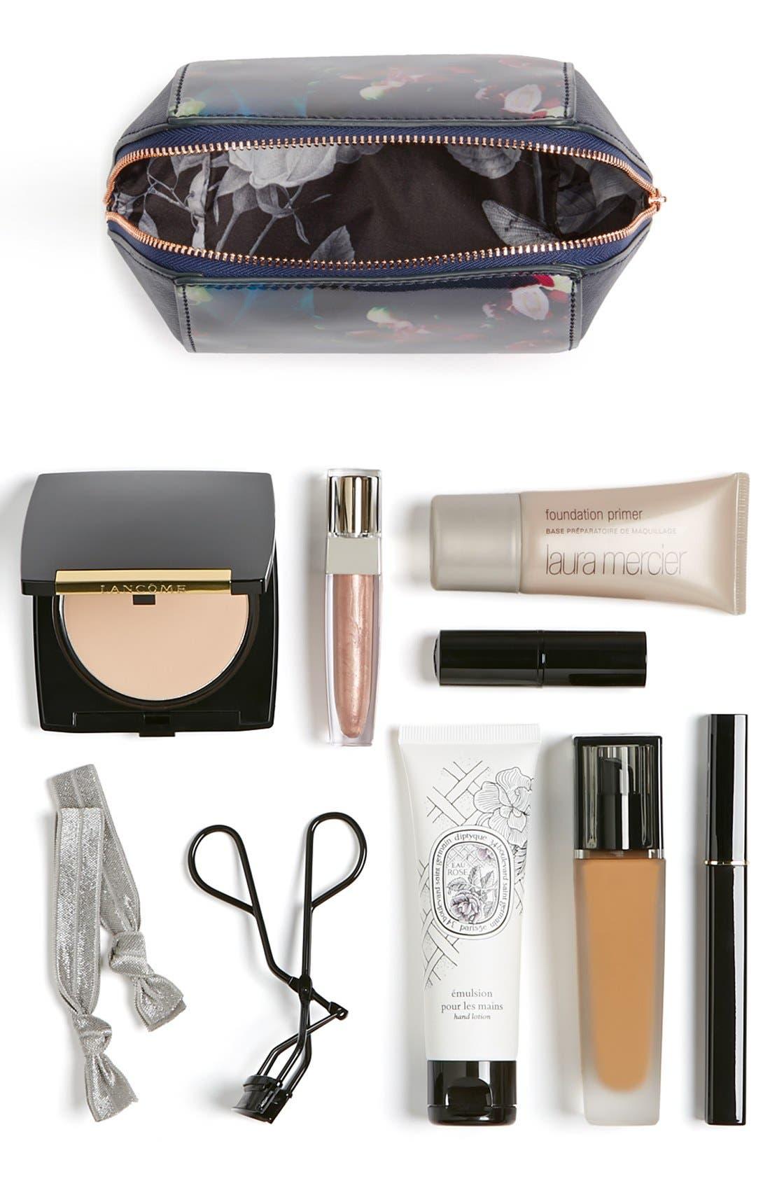 Small Cosmetics Case,                             Alternate thumbnail 3, color,                             400