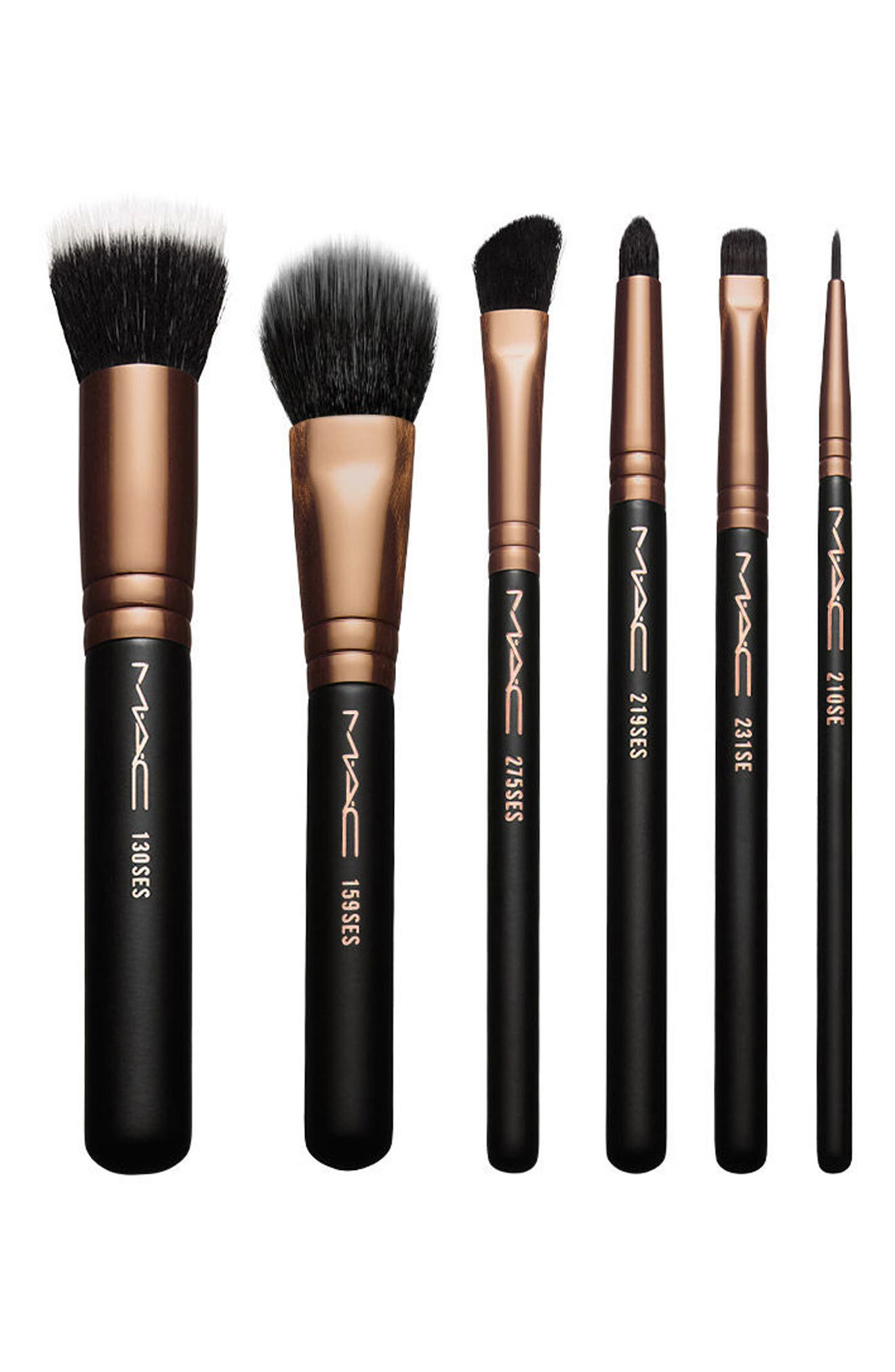 MAC Look in a Box Advanced Travel Brush Kit,                         Main,                         color, 000