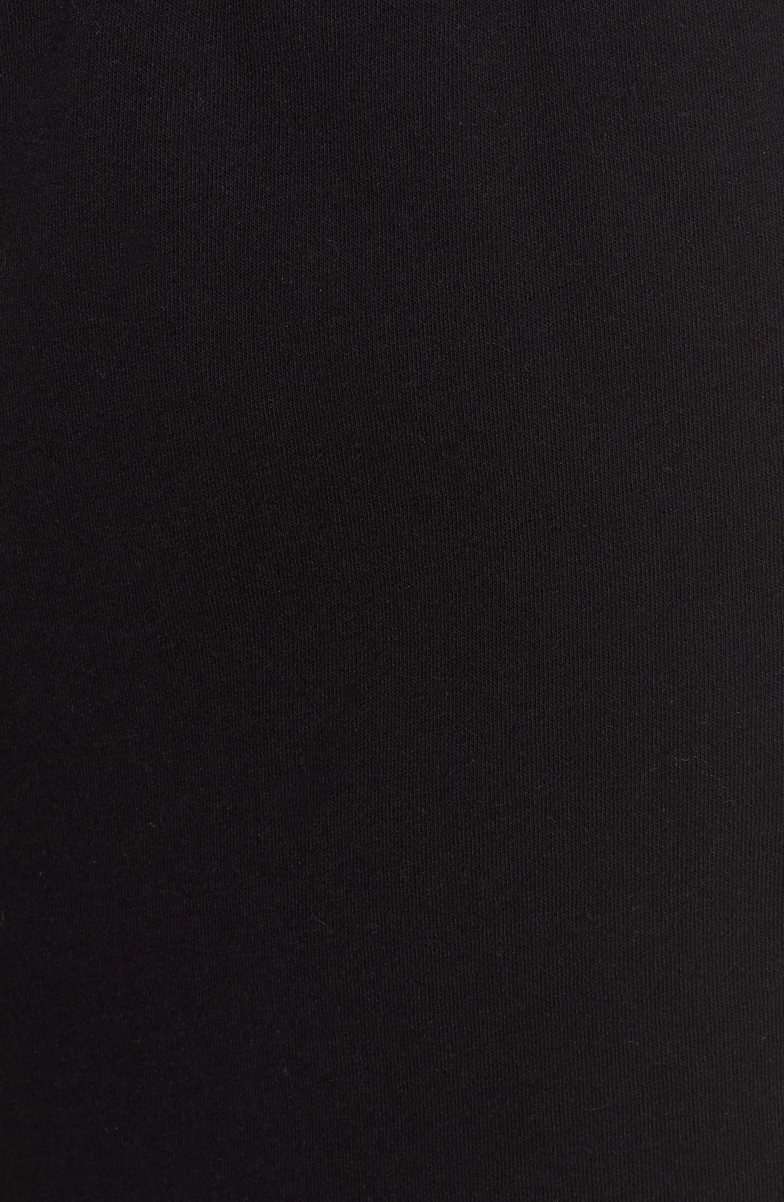 Gym Shorts,                             Alternate thumbnail 5, color,                             BLACK