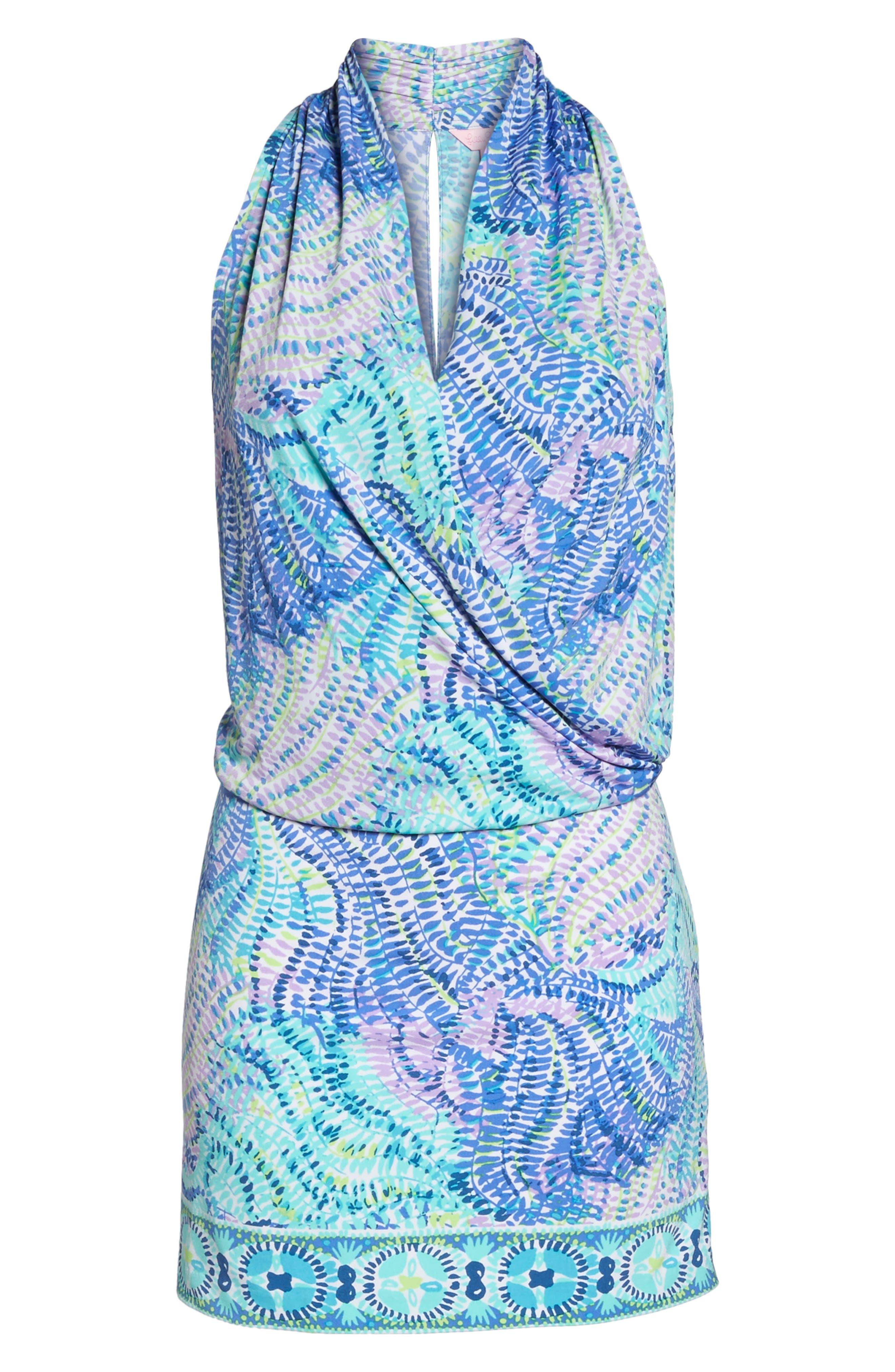 Felizia Blouson Dress,                             Alternate thumbnail 6, color,                             444