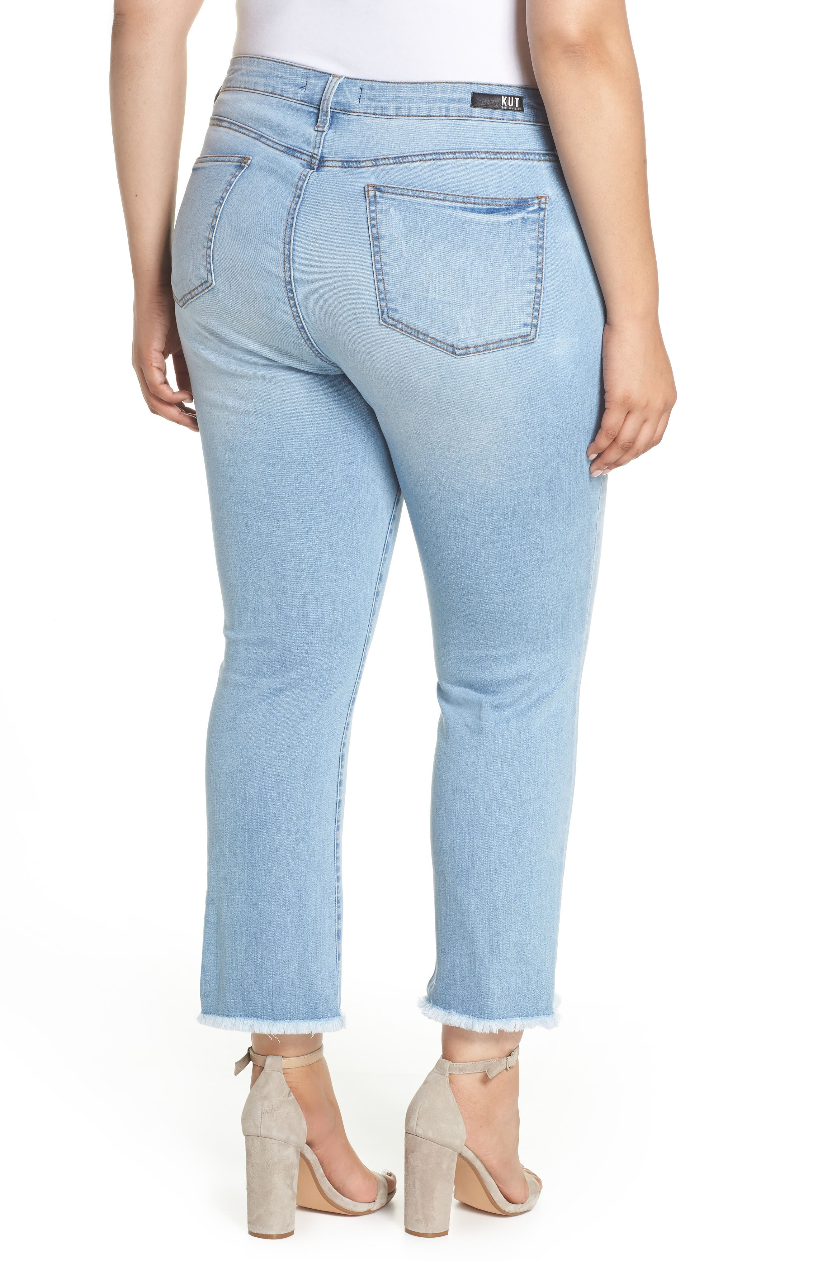 Stella Kick Flare Jeans,                             Alternate thumbnail 2, color,                             COMPETED