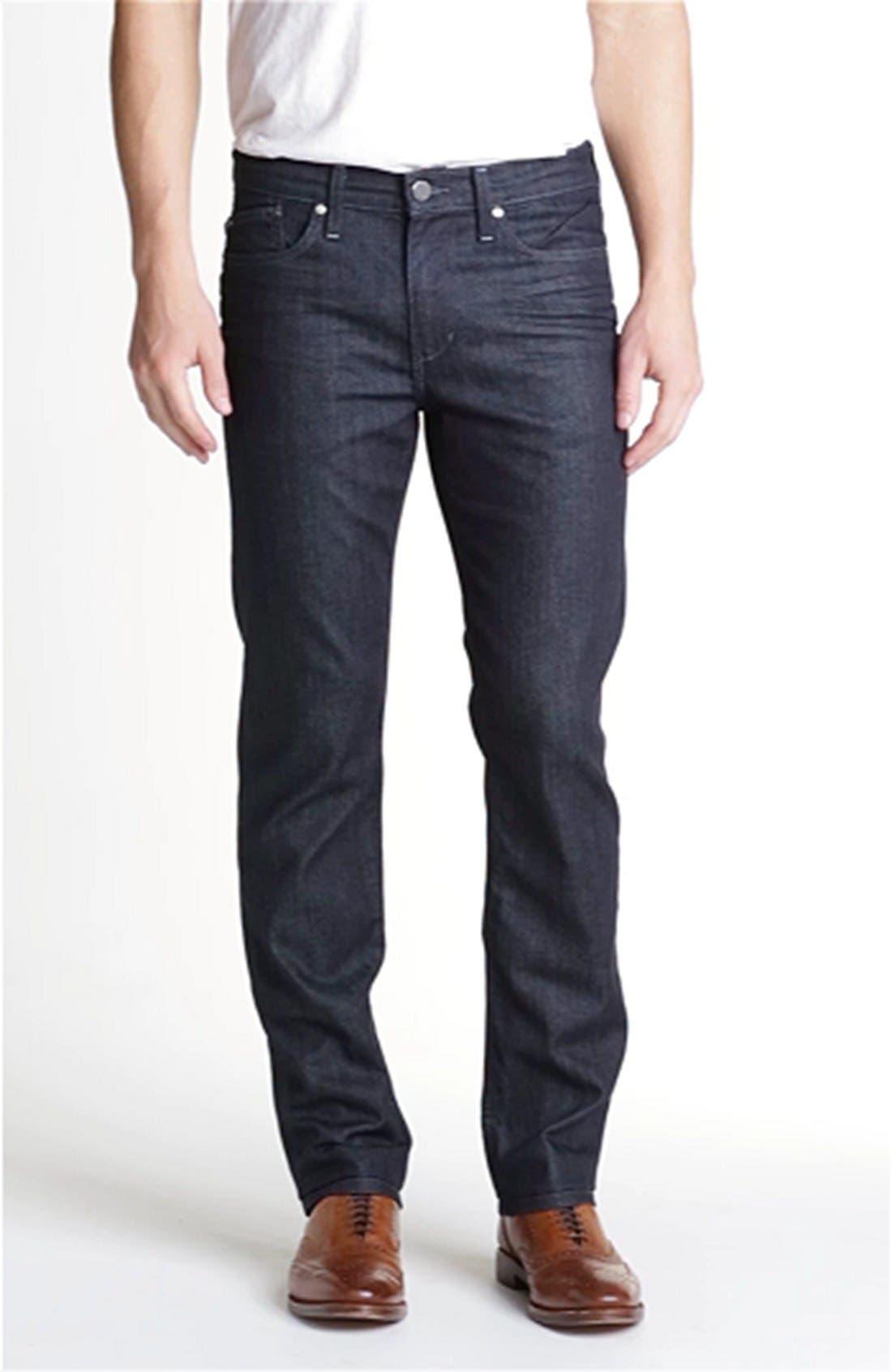 Brixton Slim Straight Fit Jeans,                             Alternate thumbnail 7, color,                             KING