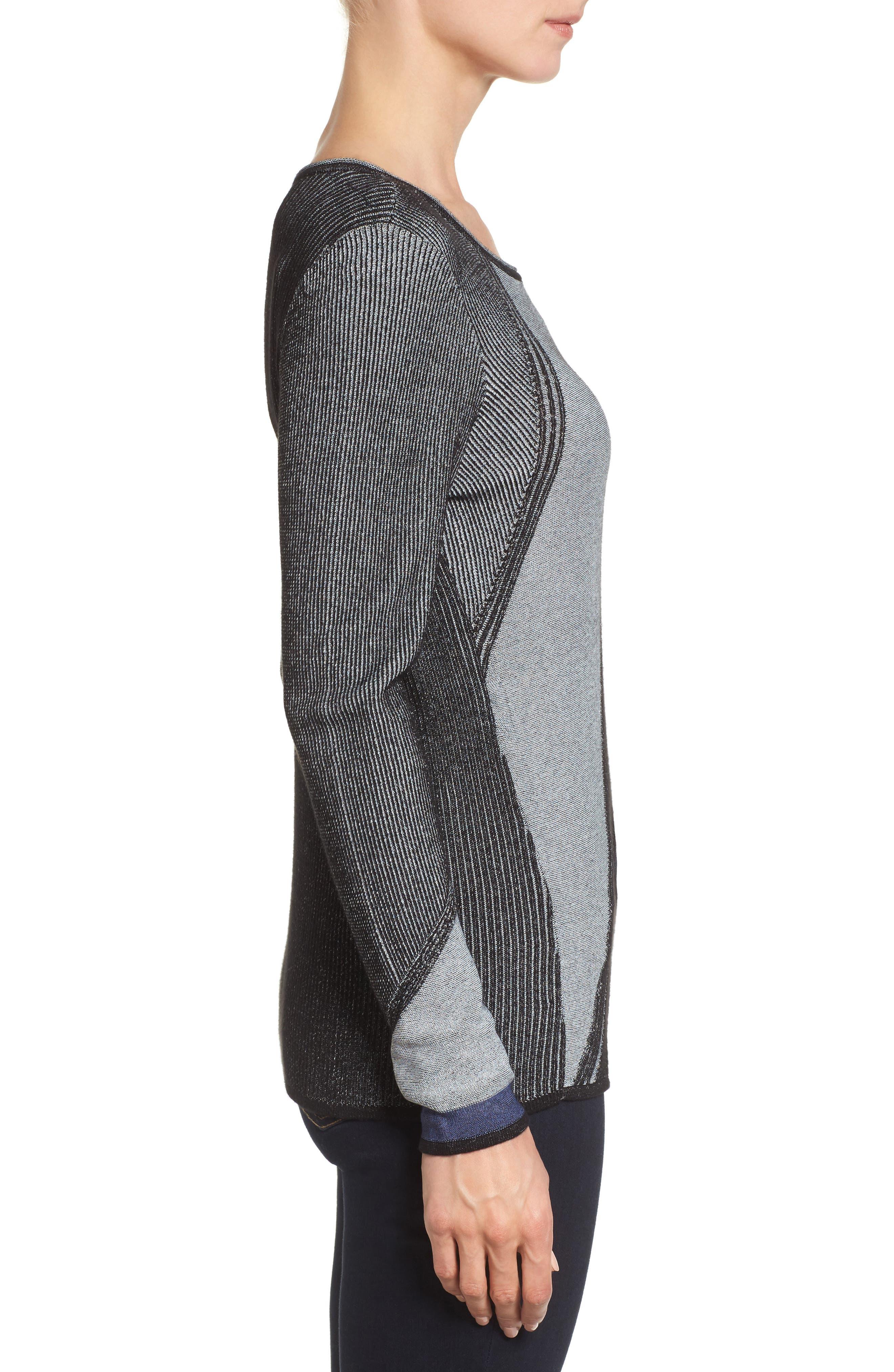Blue Horizon Knit Top,                             Alternate thumbnail 3, color,                             499