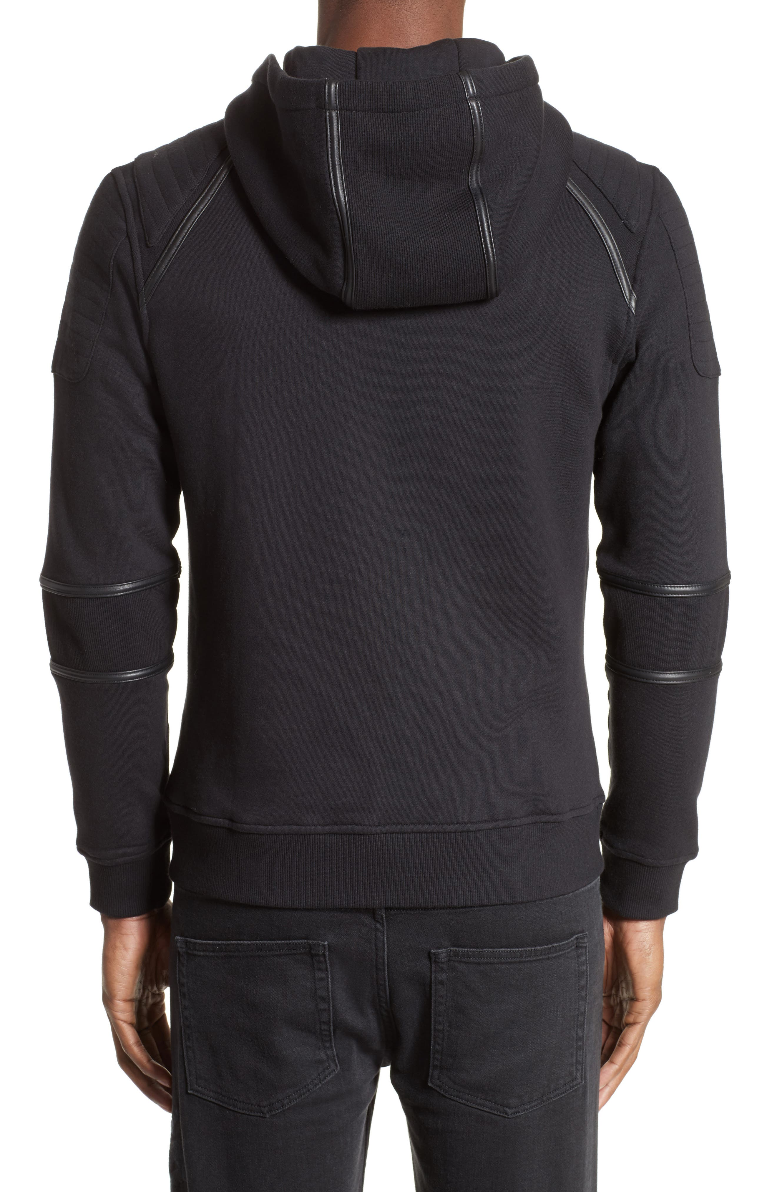 Zip Front Hoodie,                             Alternate thumbnail 2, color,