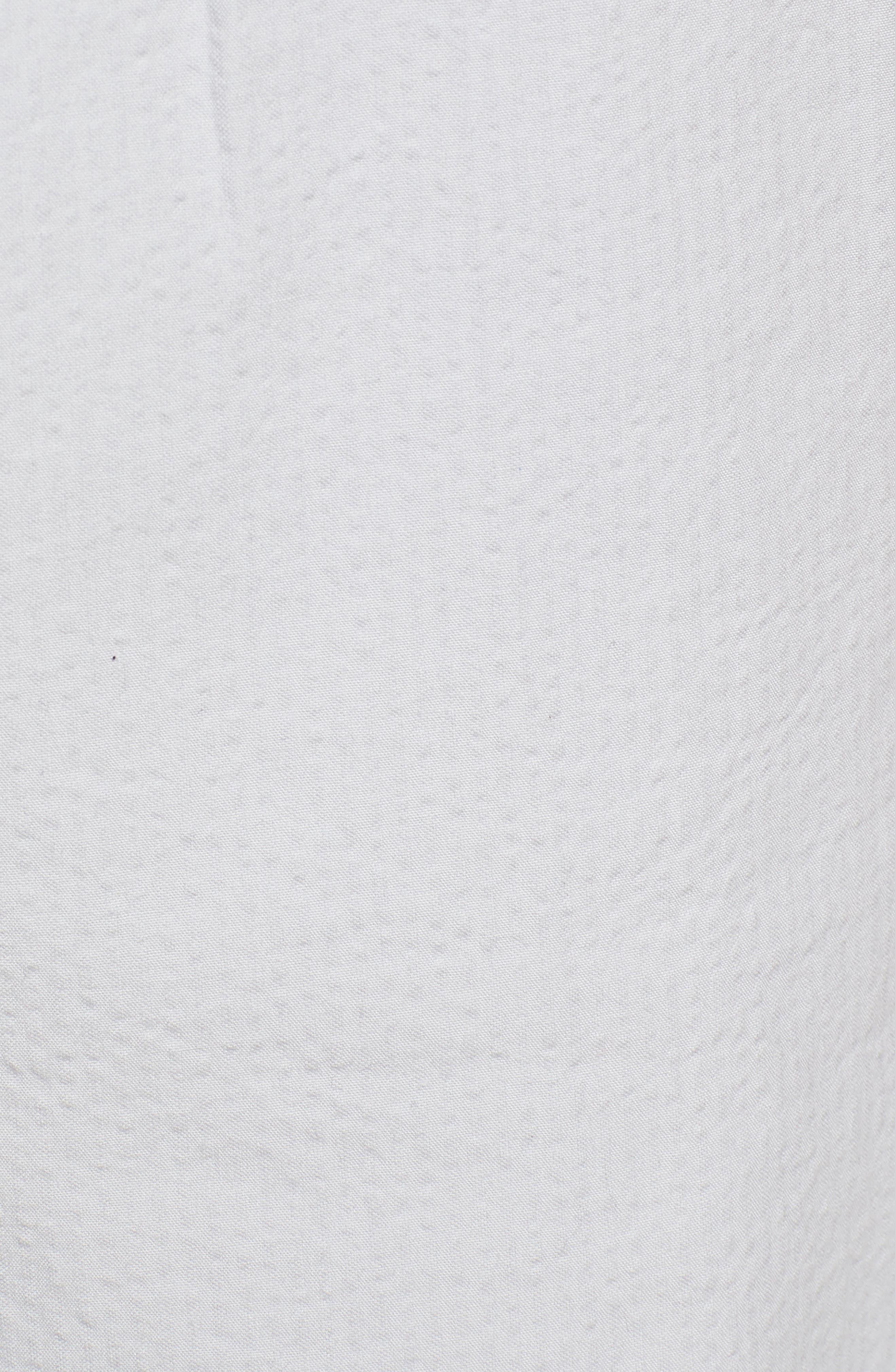 Elastic Waist Seersucker Shorts,                             Alternate thumbnail 5, color,                             030