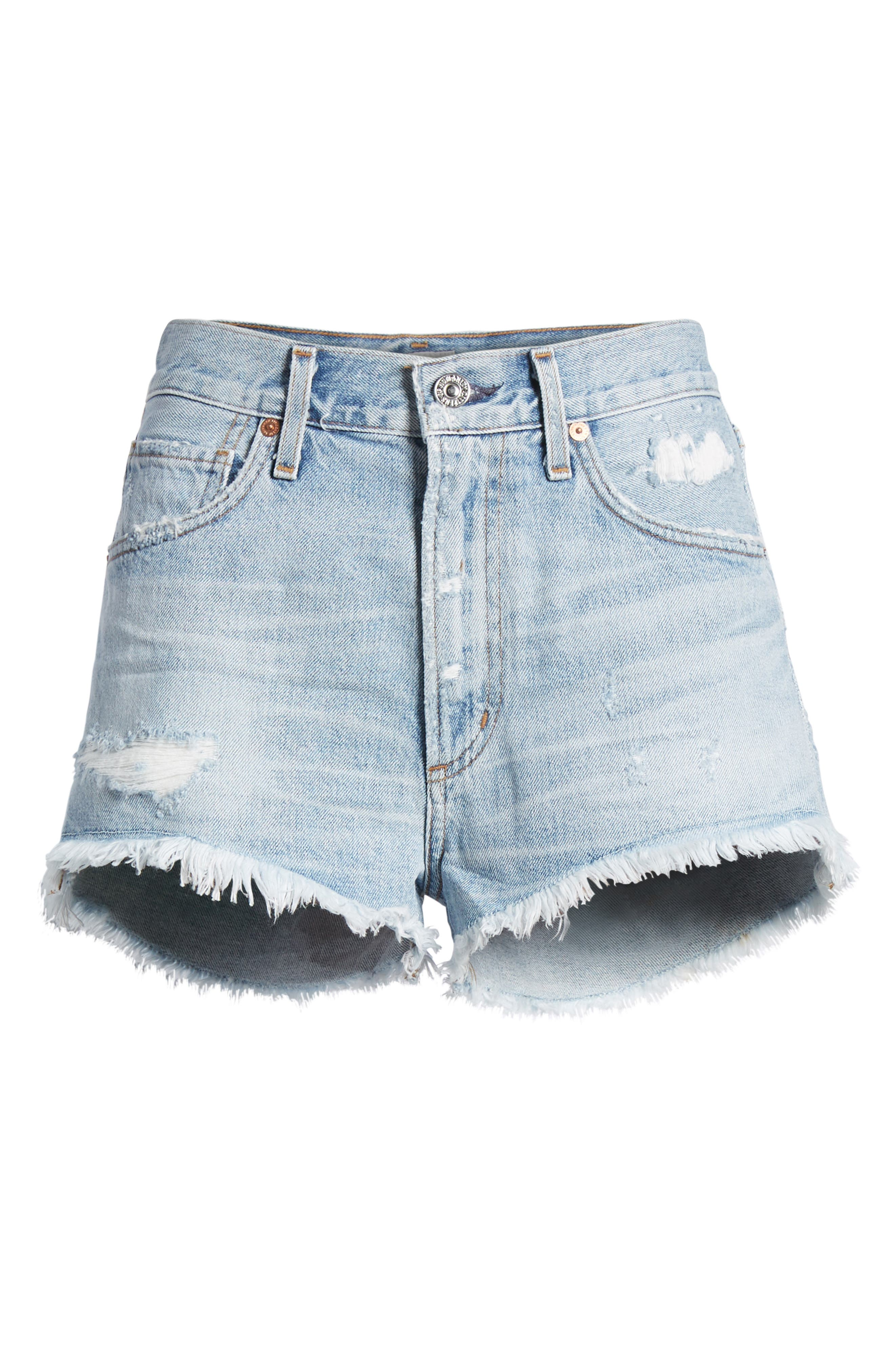 Danielle Cutoff Shorts,                             Alternate thumbnail 7, color,                             454