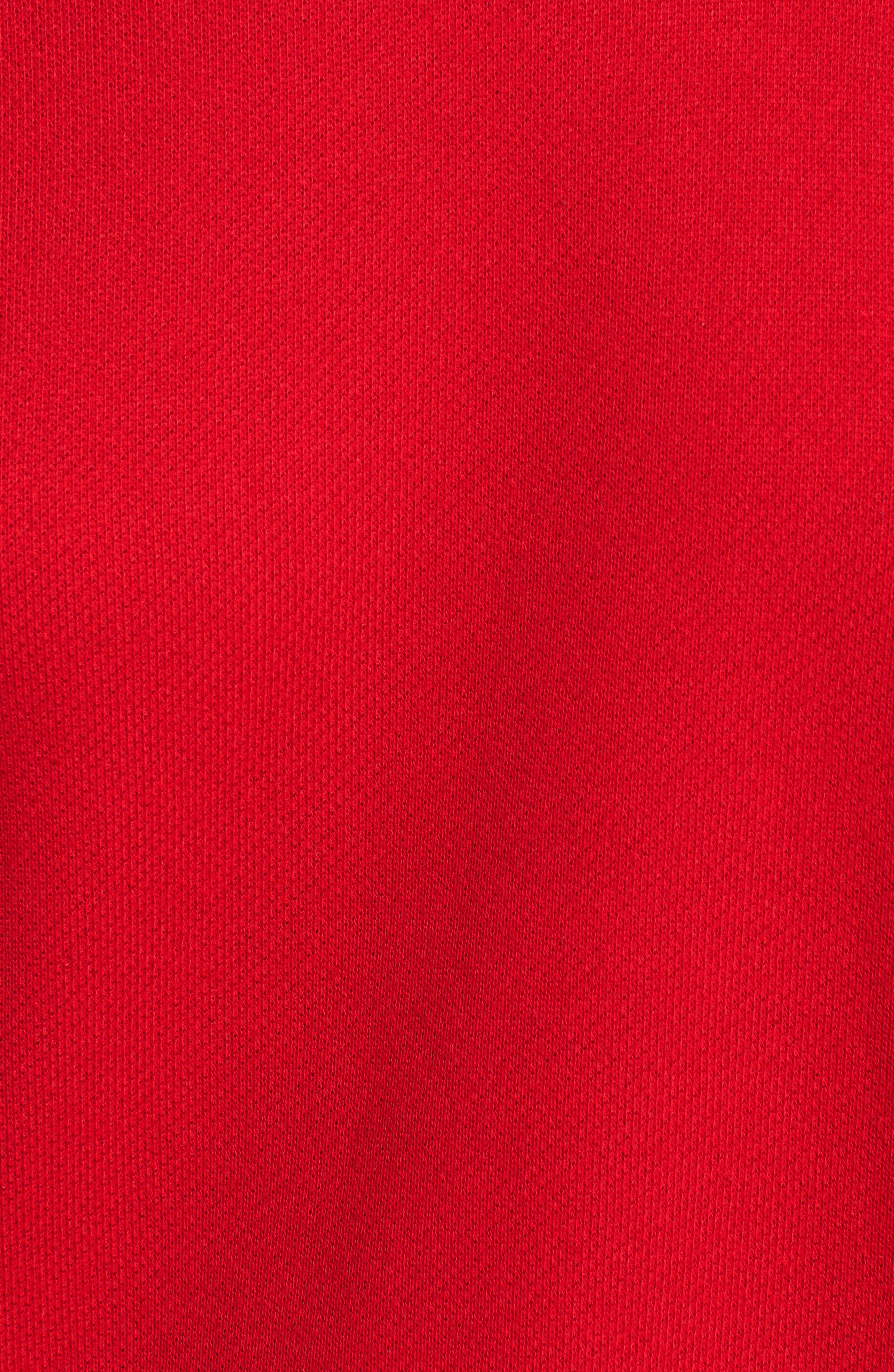 Mikko Distressed Cold Shoulder Sweatshirt,                             Alternate thumbnail 5, color,                             621