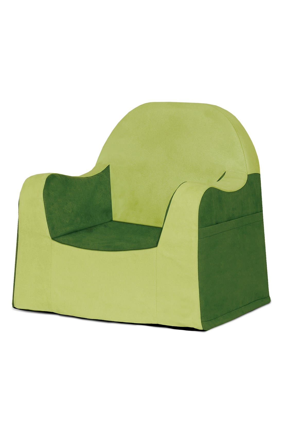 'Personalized Little Reader' Chair,                             Alternate thumbnail 5, color,                             GREEN