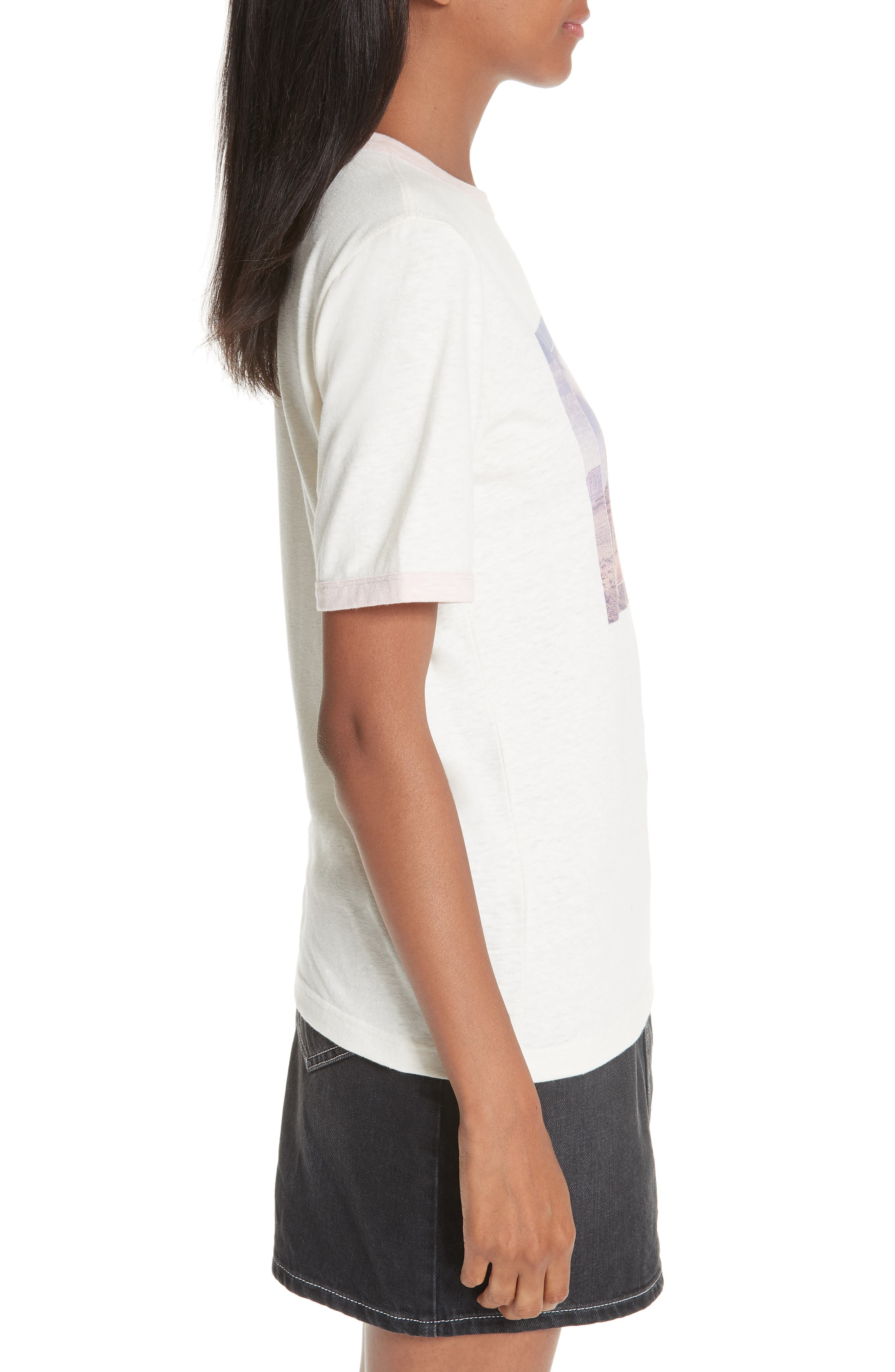 Slub Jersey Tee,                             Alternate thumbnail 3, color,                             WHITE