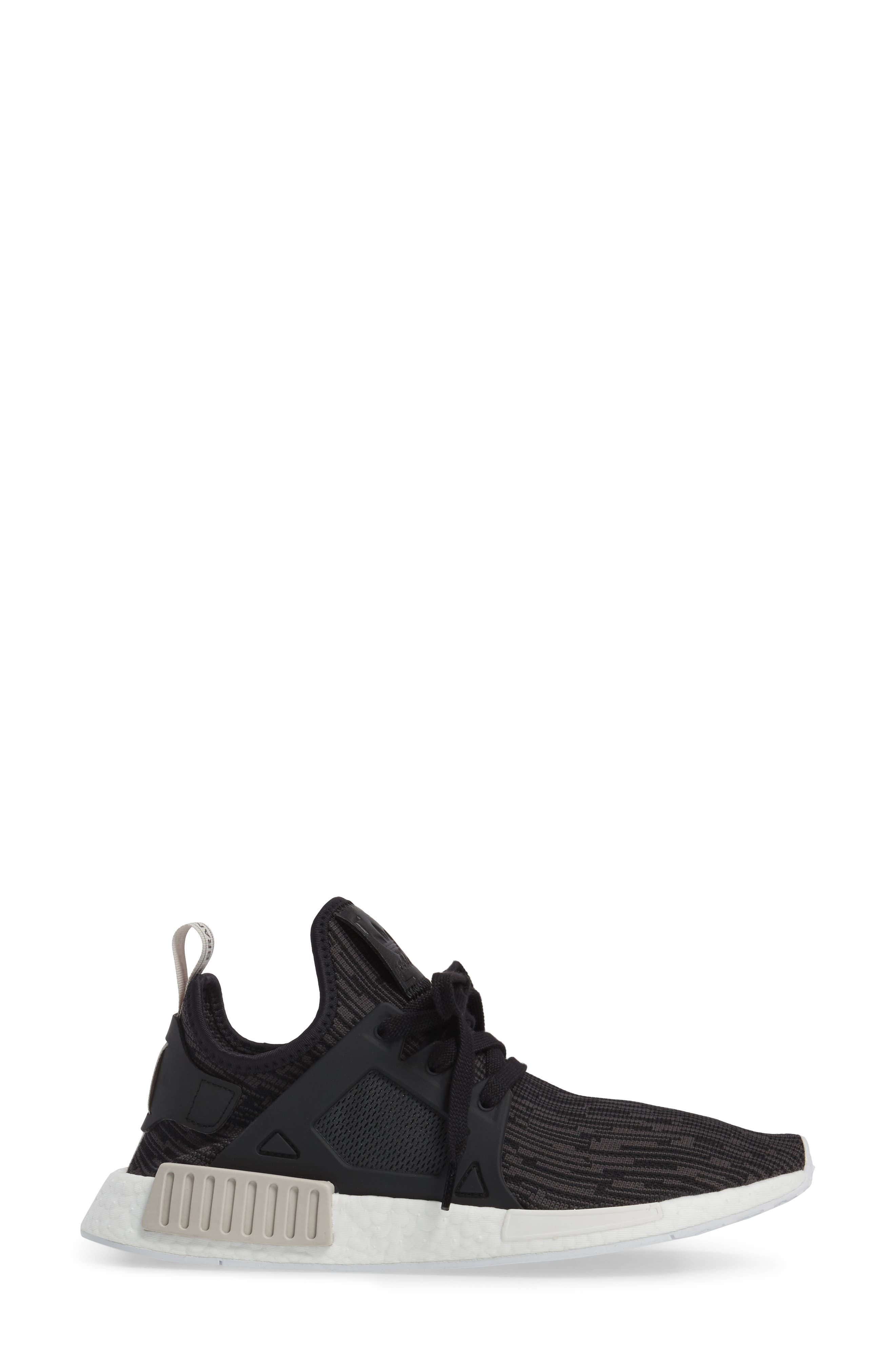 NMD XR1 Athletic Shoe,                             Alternate thumbnail 3, color,                             001