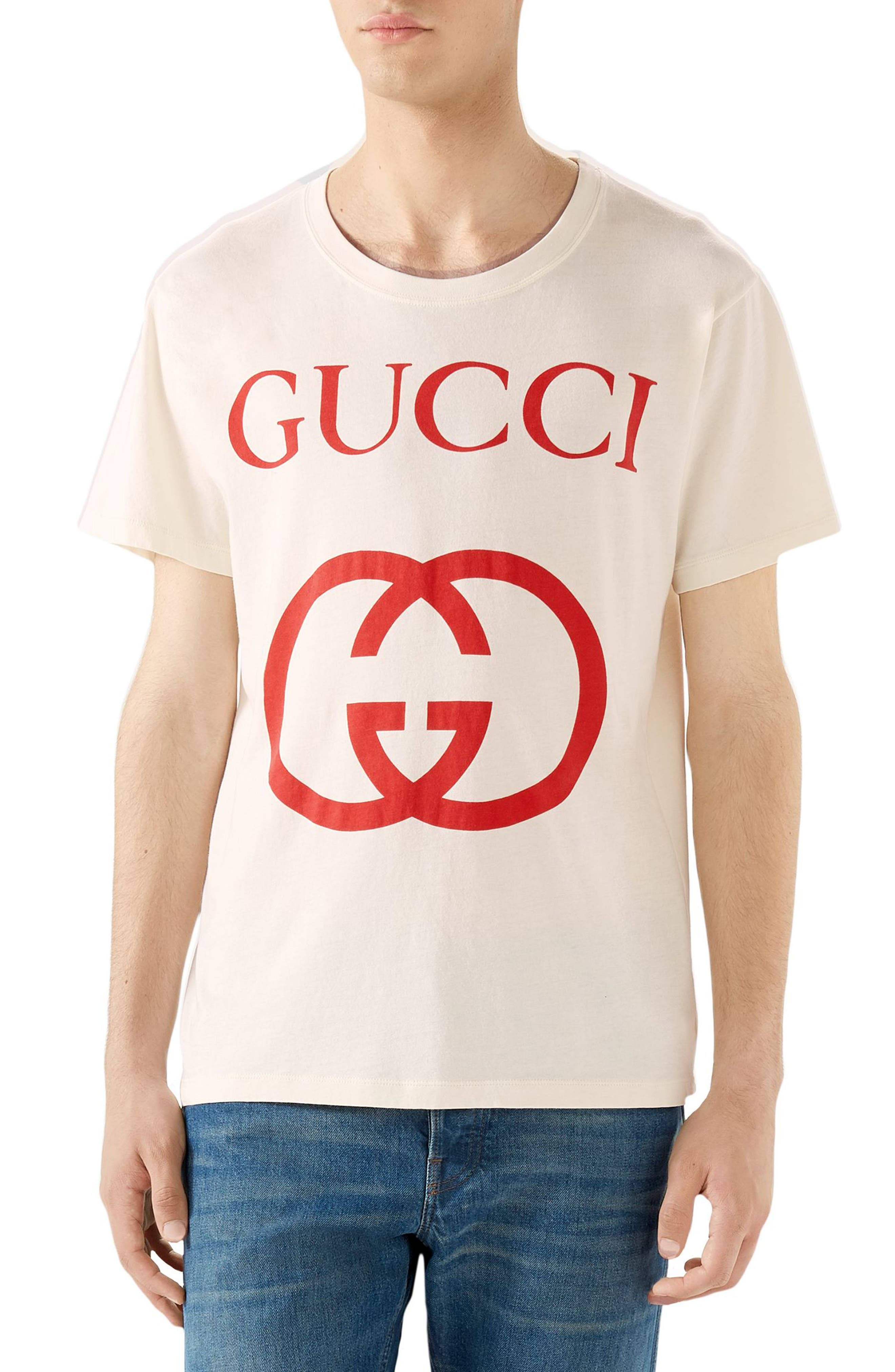 New Logo T-Shirt,                         Main,                         color, OFF WHITE