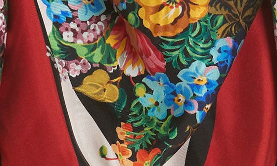 Josephine Stripe Square Silk Shawl,                         Main,                         color, BLACK/ MULTICOLOR