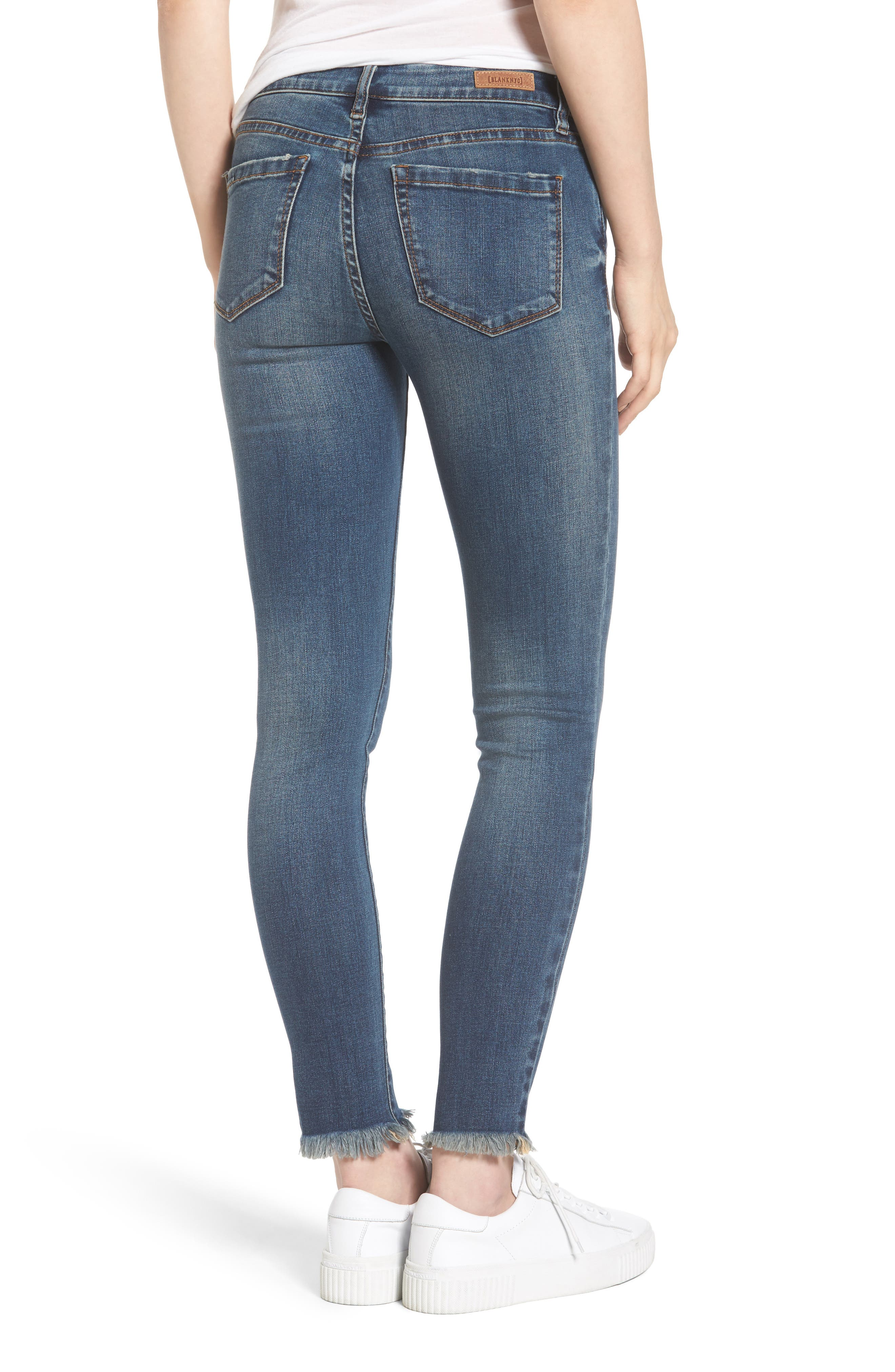 Skinny Ankle Jeans,                             Alternate thumbnail 2, color,                             400
