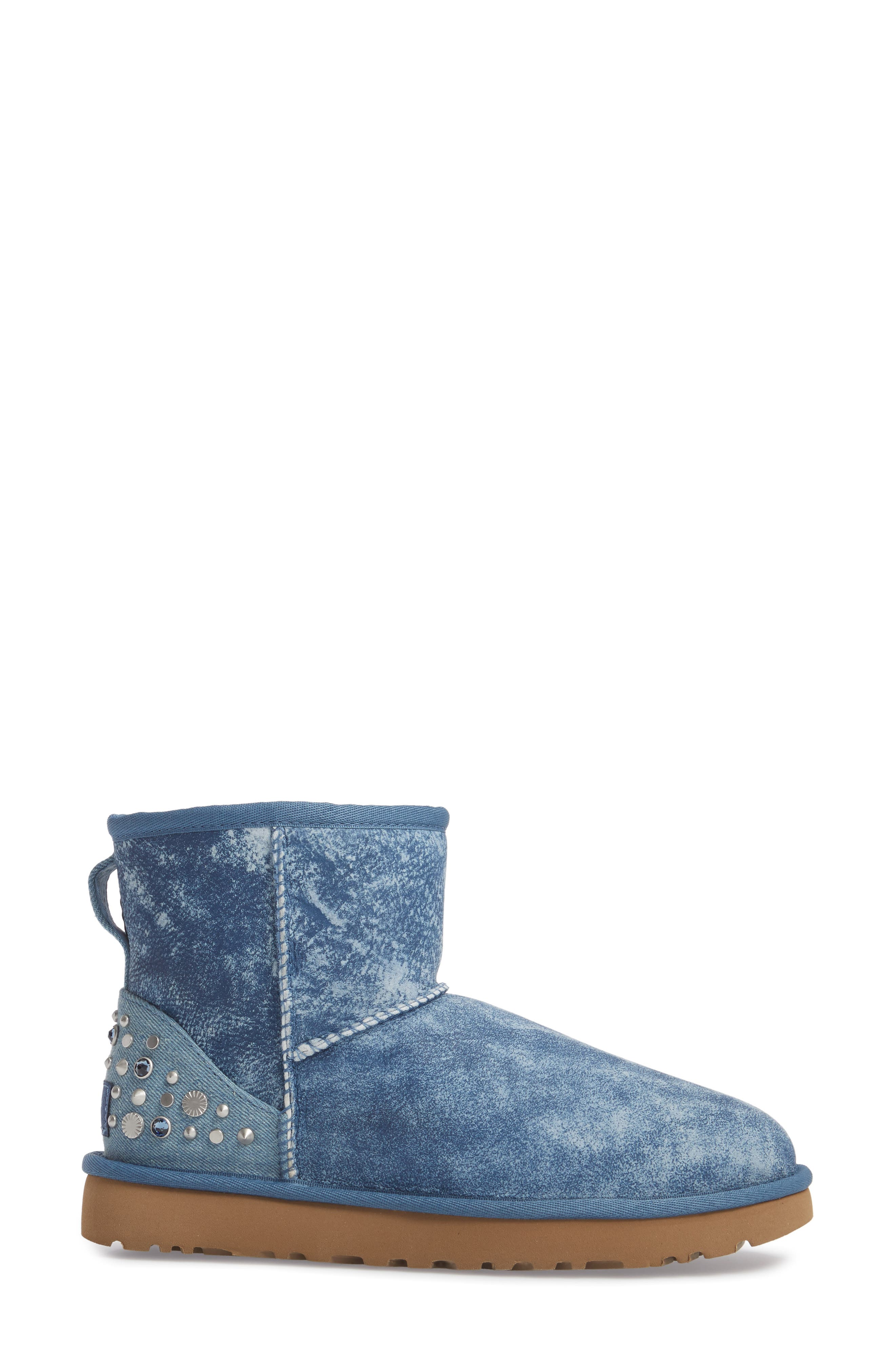 Mini Studded Bling Boot,                             Alternate thumbnail 3, color,