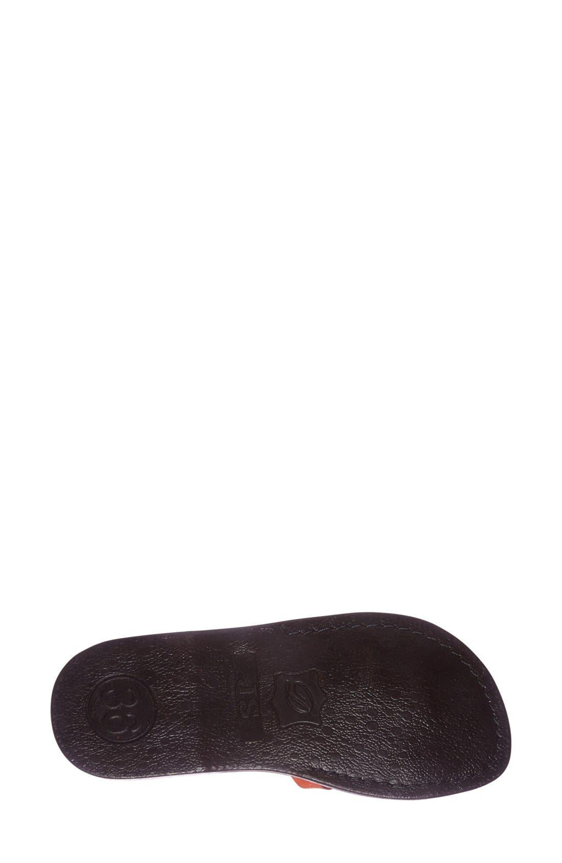 'The Good Shepard' Leather Sandal,                             Alternate thumbnail 32, color,
