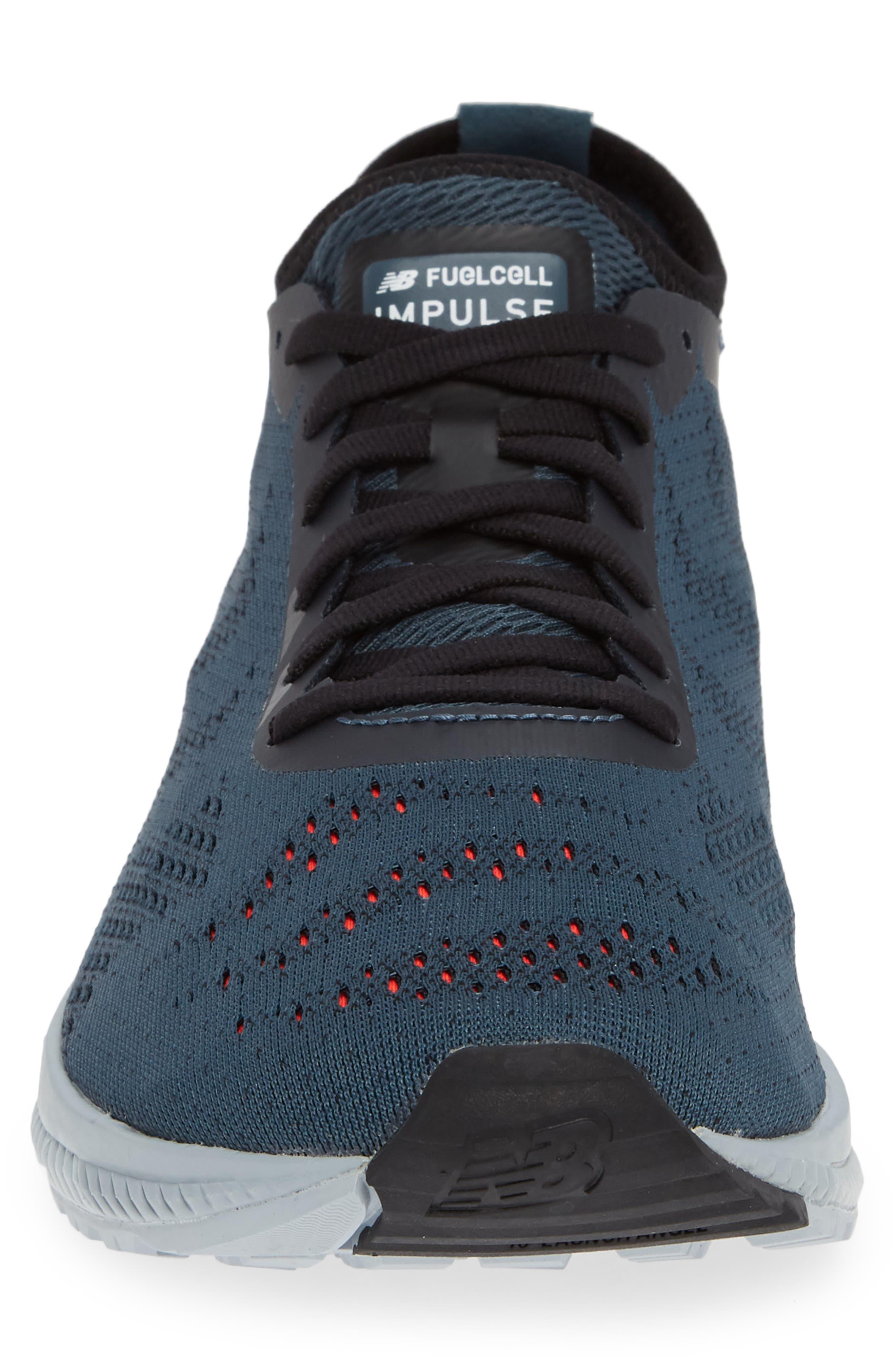 FuelCell Impulse Running Shoe,                             Alternate thumbnail 4, color,                             PETROL