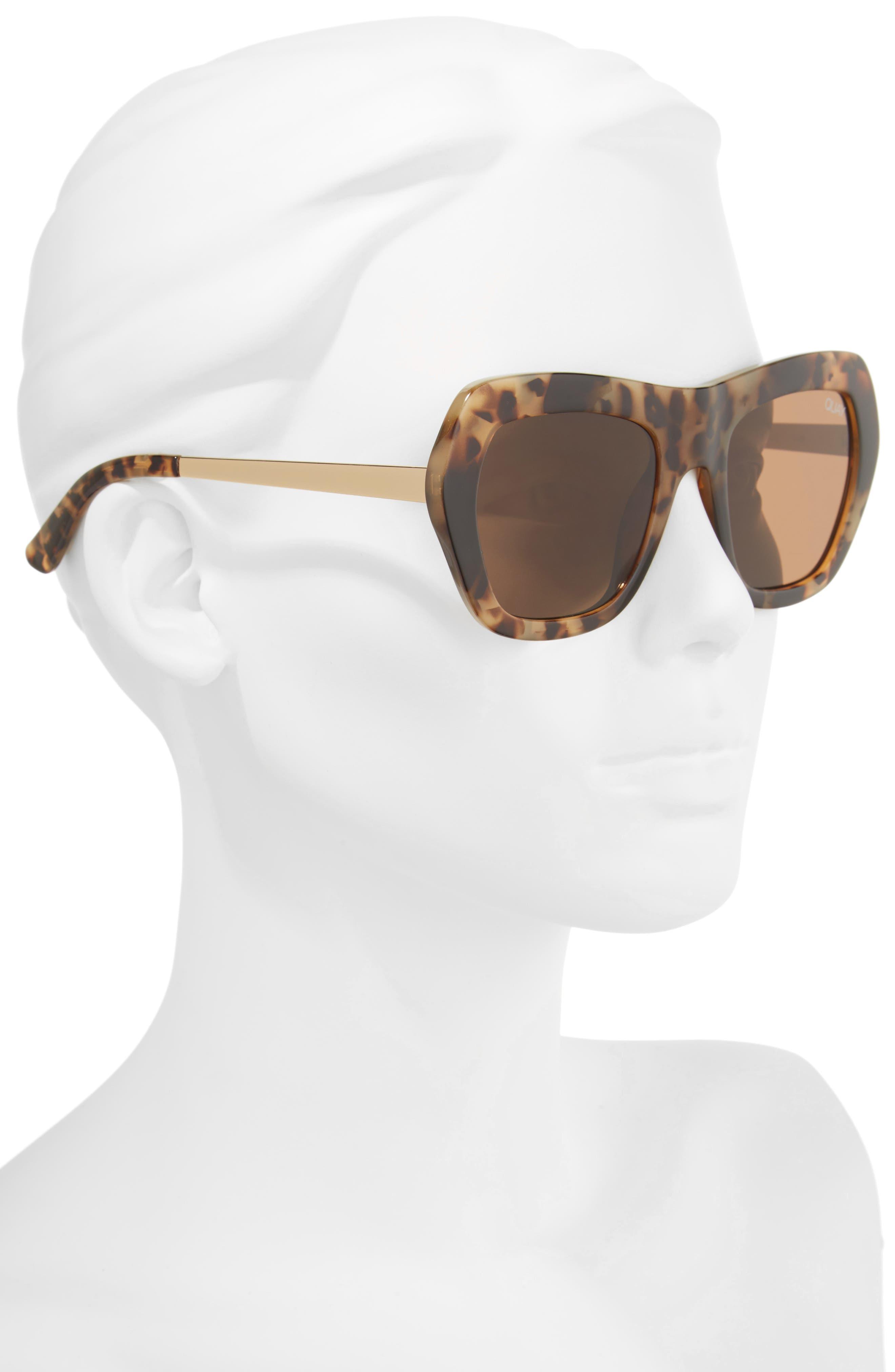 Common Love 53mm Square Sunglasses,                             Alternate thumbnail 4, color,